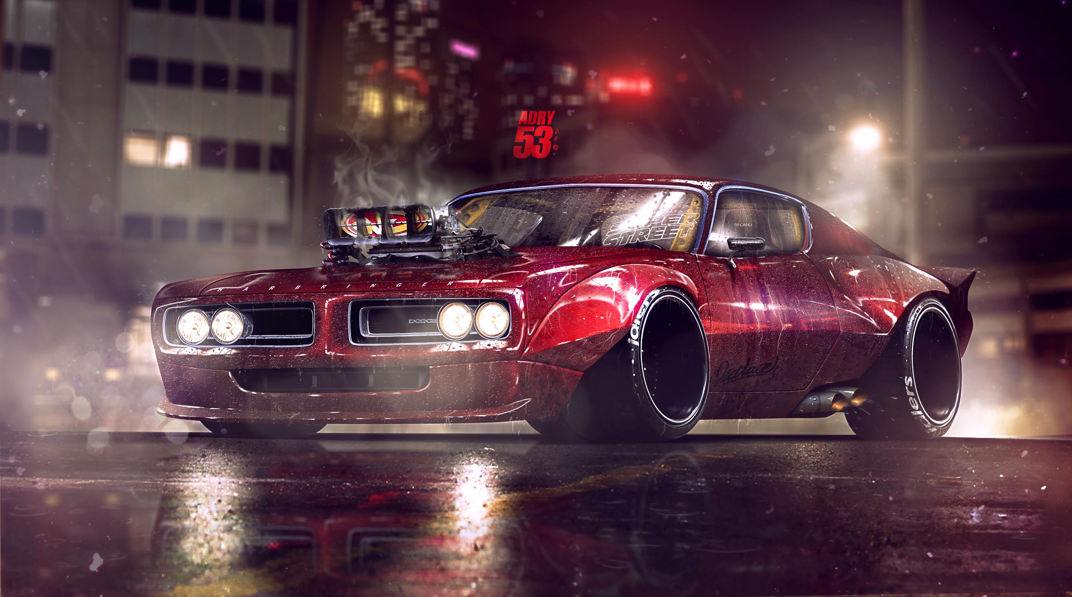 Dodge Charger Artwork 4k Hd Cars 4k Wallpapers Images