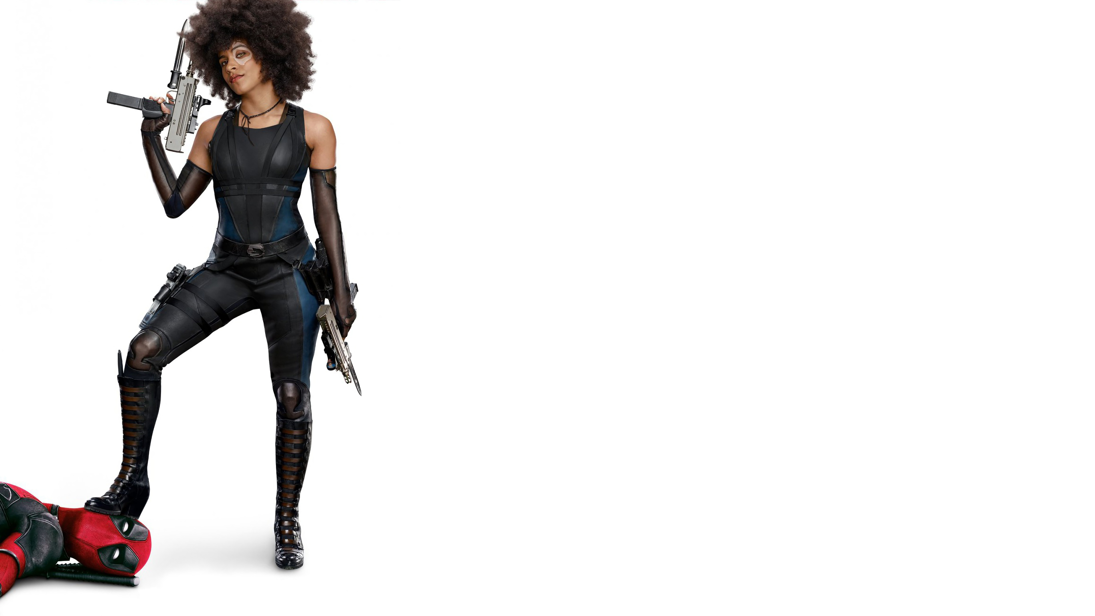Domino And Deadpool In Deadpool 2 Hd Movies 4k HD Wallpapers Download Free Images Wallpaper [1000image.com]