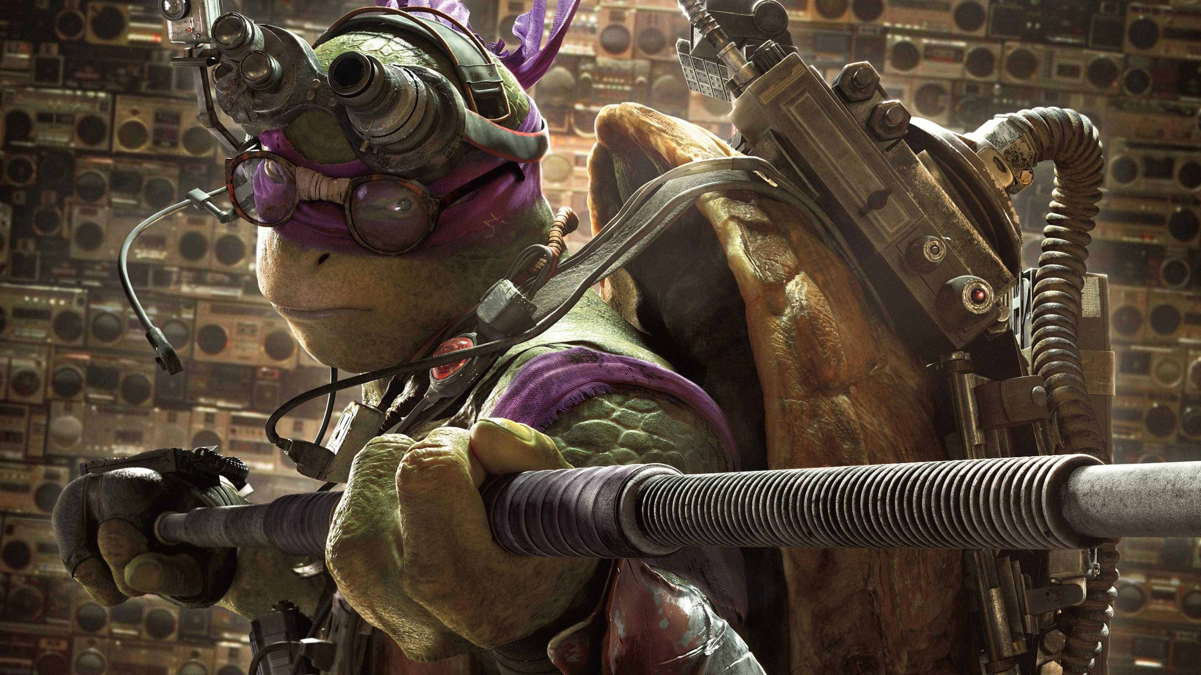 Donnie In Teenage Mutant Ninja Turtles, HD Movies, 4k