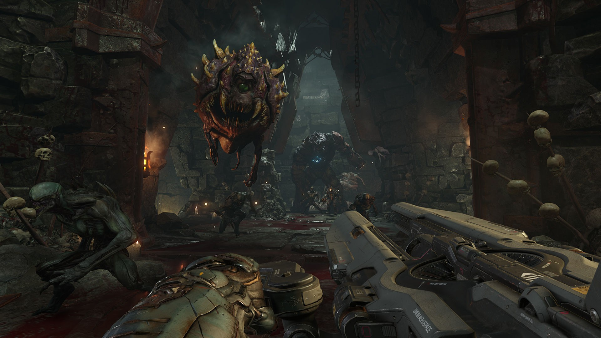 doom 4 video game, hd games, 4k wallpapers, images, backgrounds