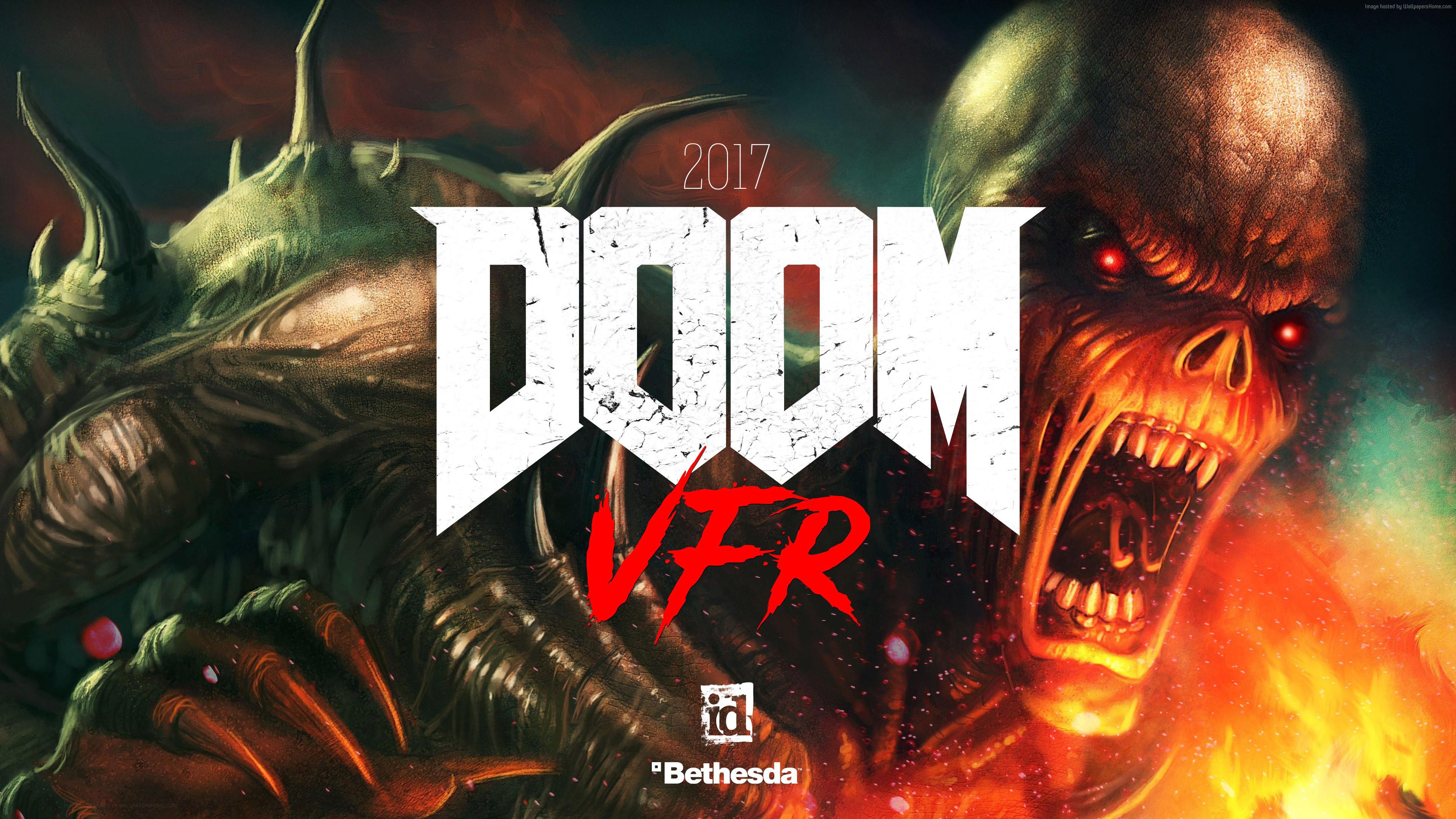Doom Game Wallpaper 70 Images: Doom VFR 2017, HD Games, 4k Wallpapers, Images