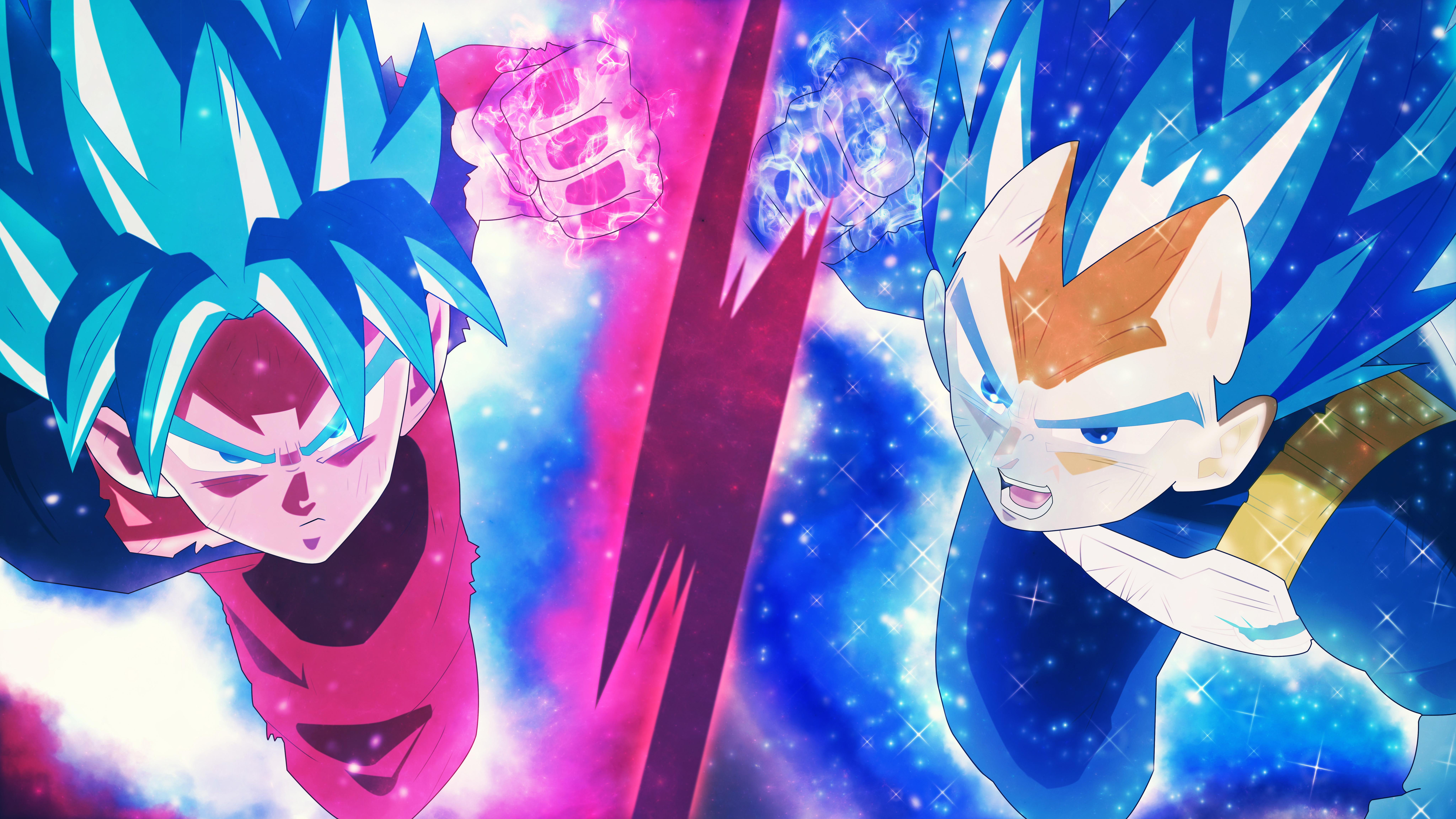 3840x2160 Dragon Ball Super Super Saiyan Blue 8k 4k HD 4k