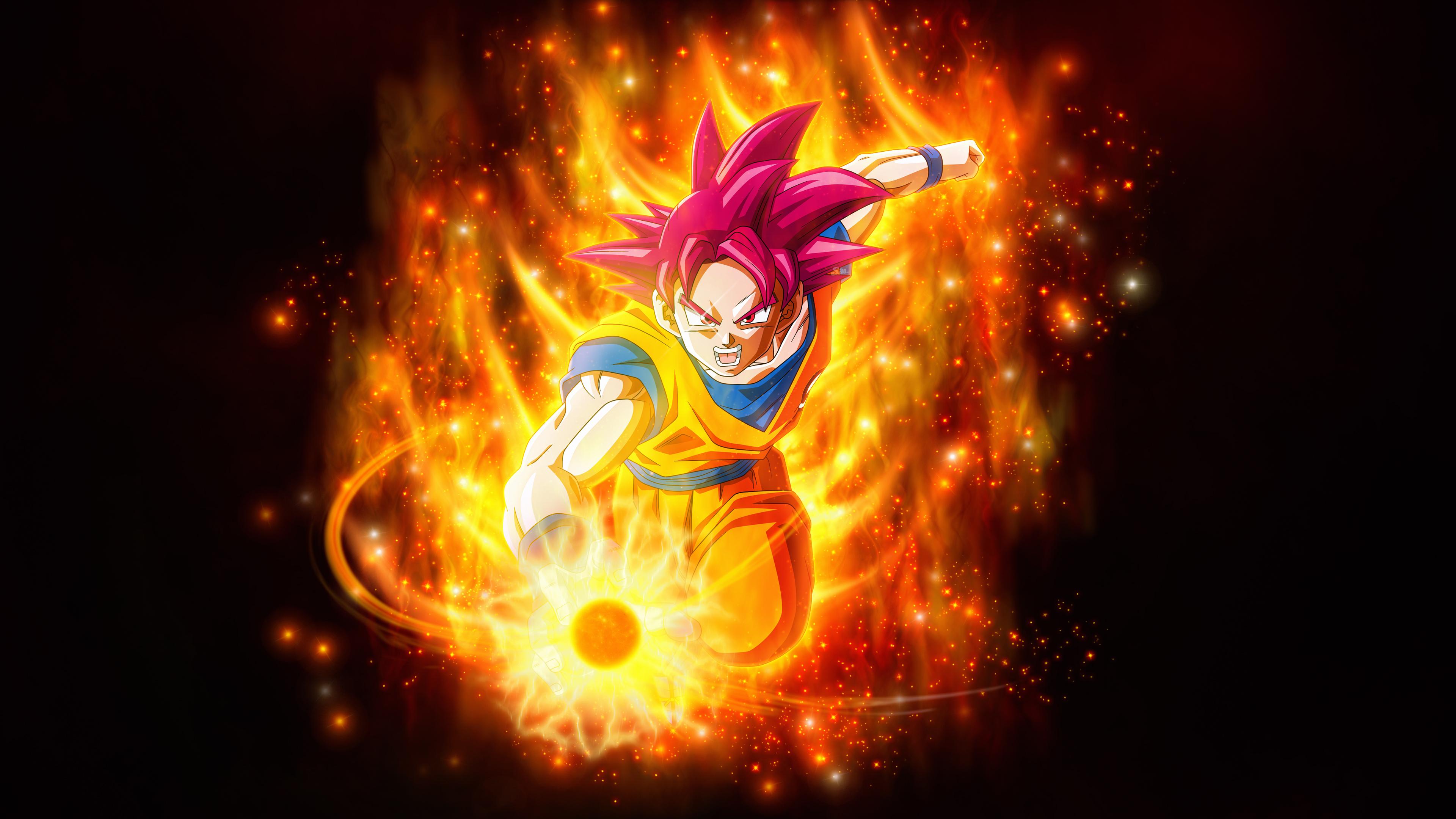 1366x768 dragon ball super super saiyan goku 1366x768 - Goku wallpaper 4k ...