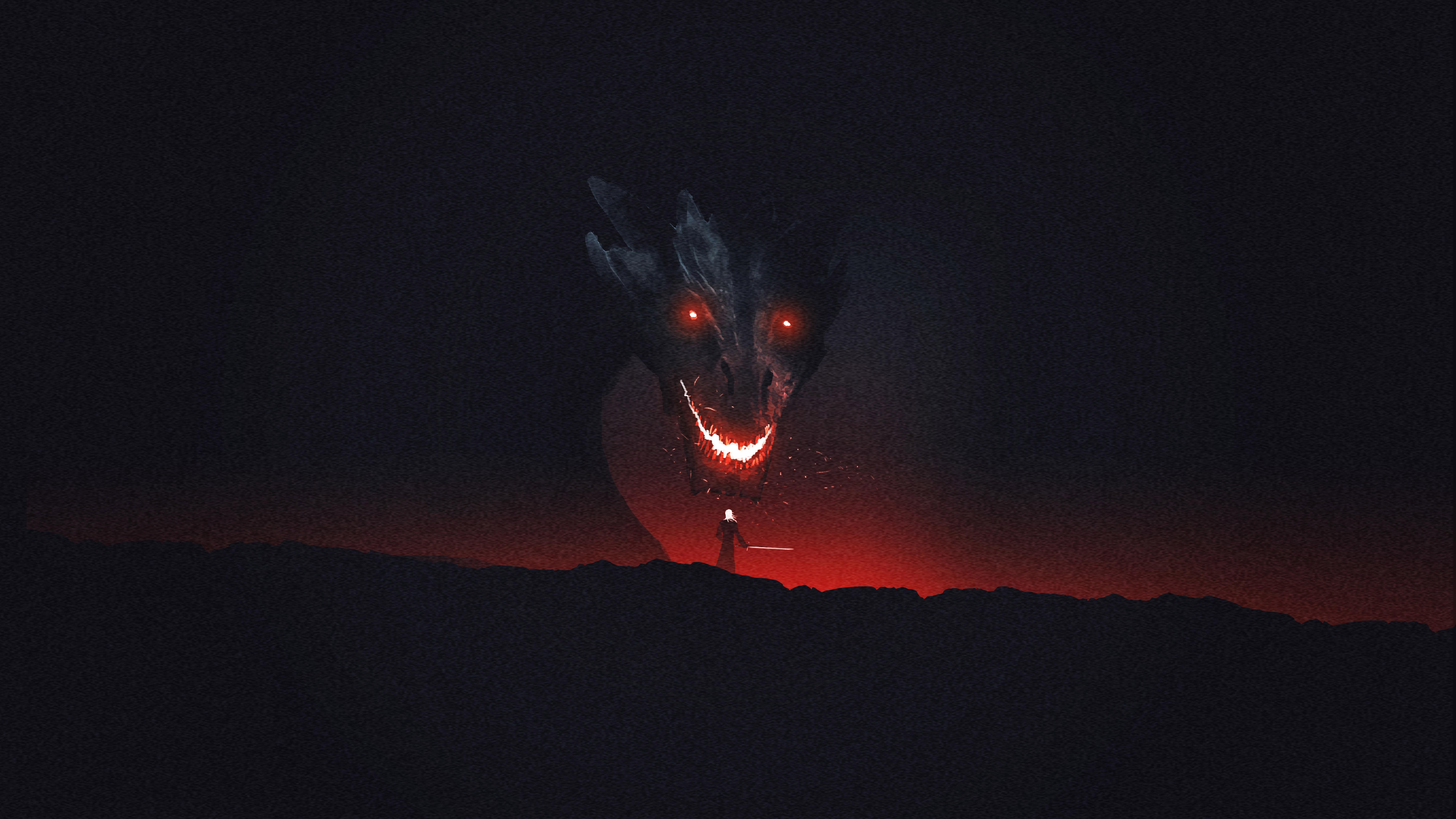 Popular Wallpaper Night Dragon - dragon-game-of-thrones-10k-artwork-ja  Photograph.jpg