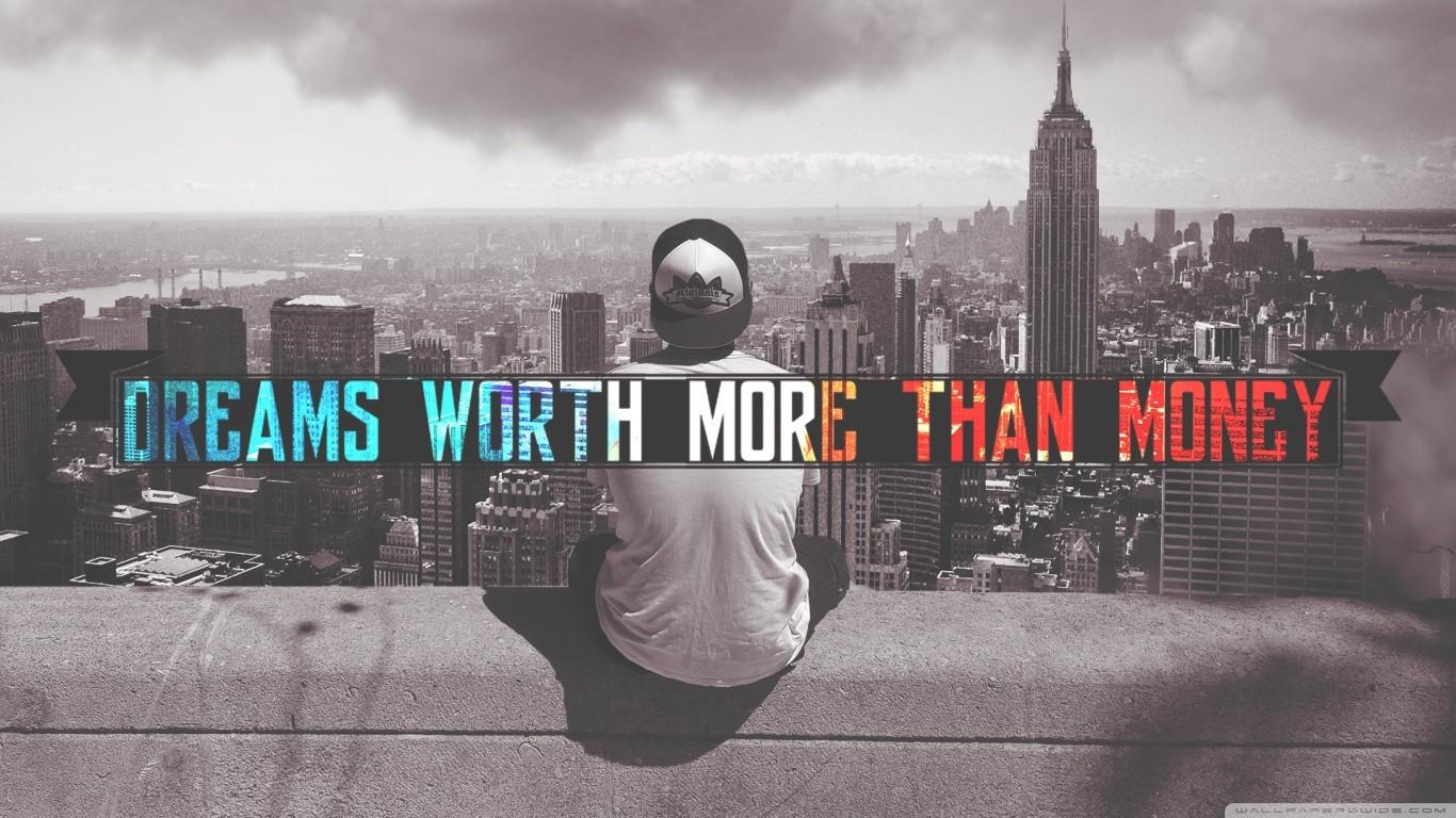 Dreams Worth More Than Money 2048x1152 Resolution