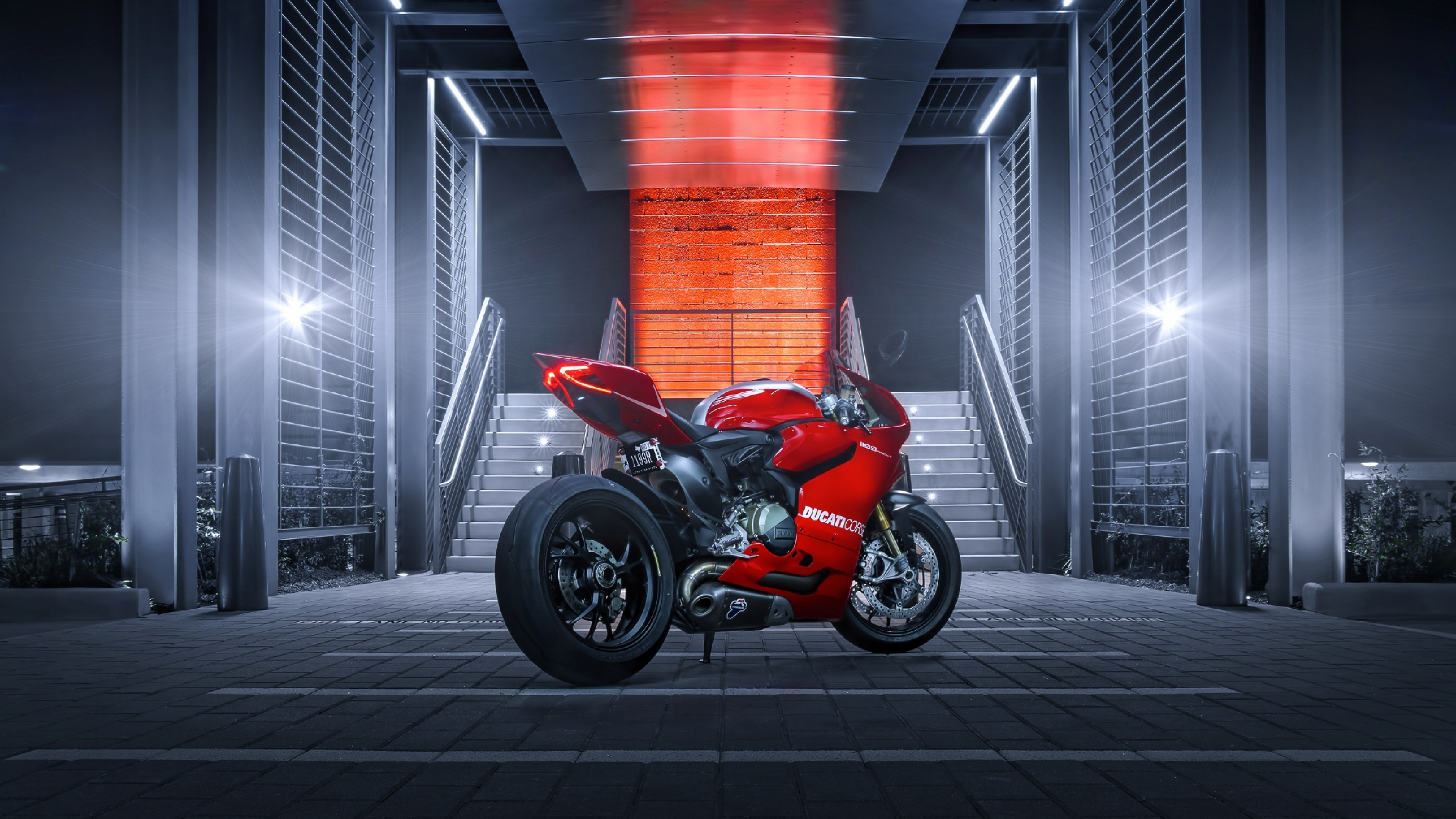 Ducati 1199 Red, HD Bikes, 4k Wallpapers, Images, Backgrounds, Photos and Pictures