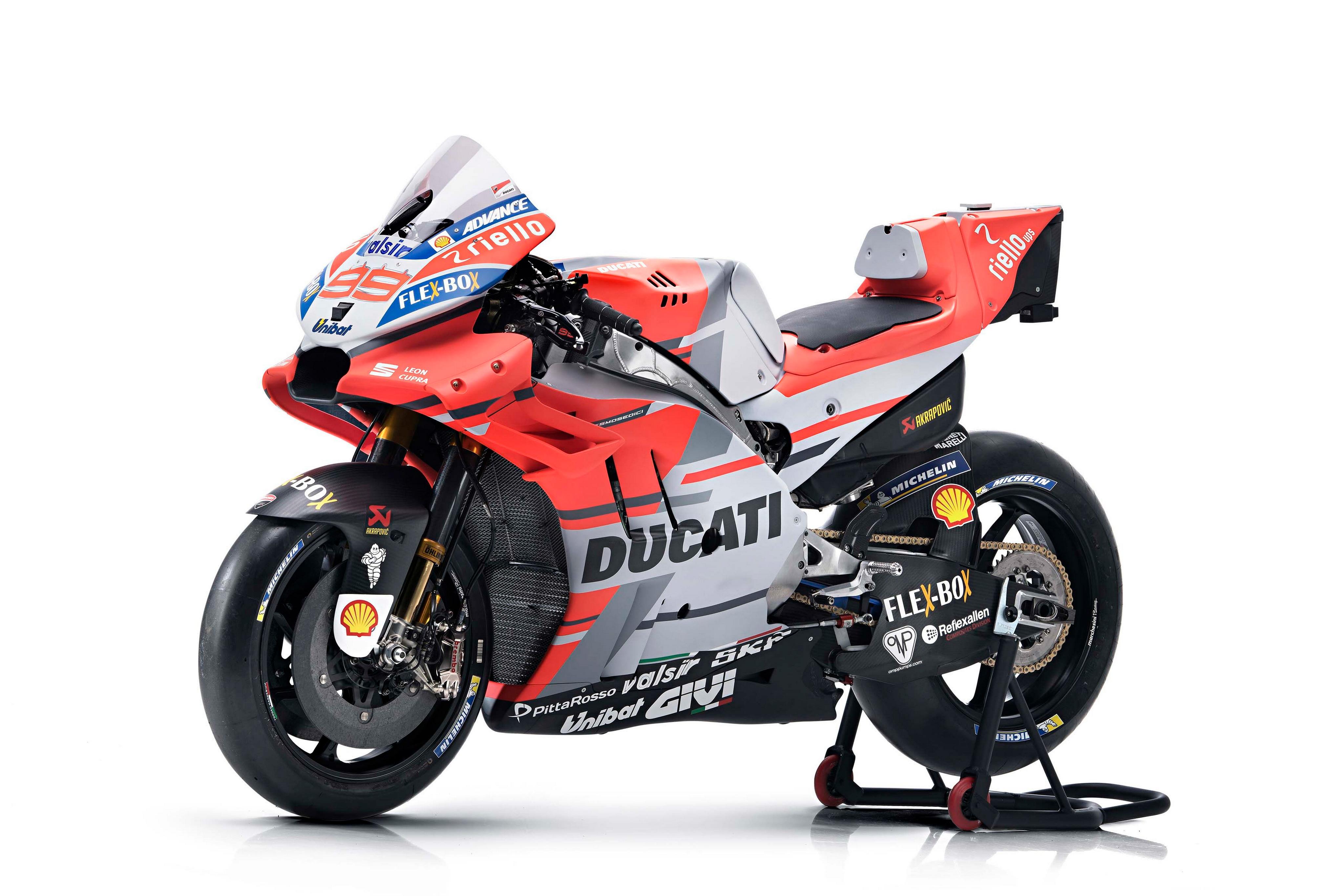 Ducati Desmosedici GP18 2018 - Foto 24/101