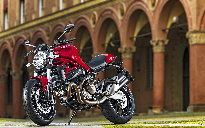 ducati monster 821 2016 bikes hd 4k wallpapers