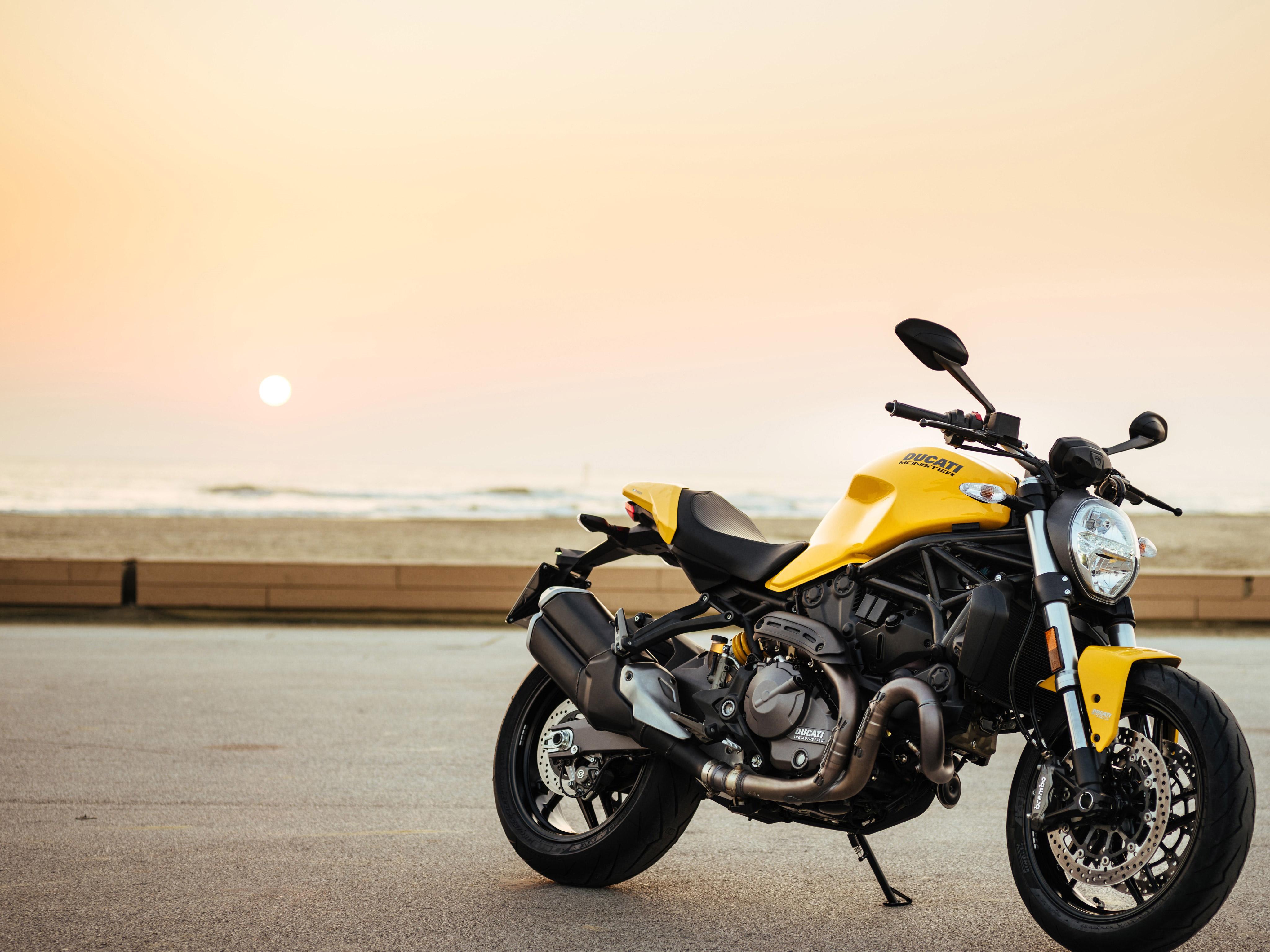 Ducati Monster 821 2017 4k