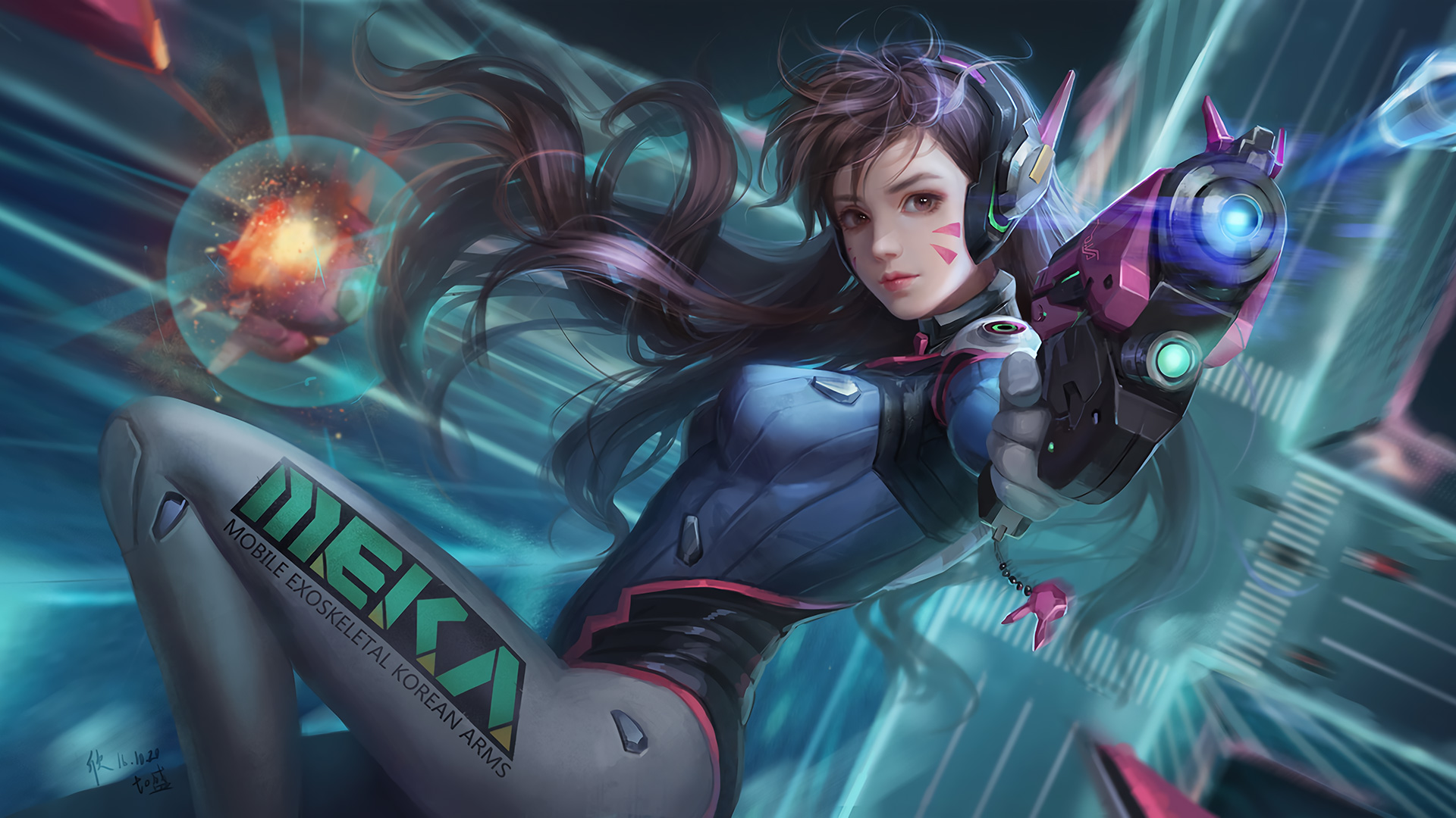 Dva Overwatch Best Hd Games 4k Wallpapers Images