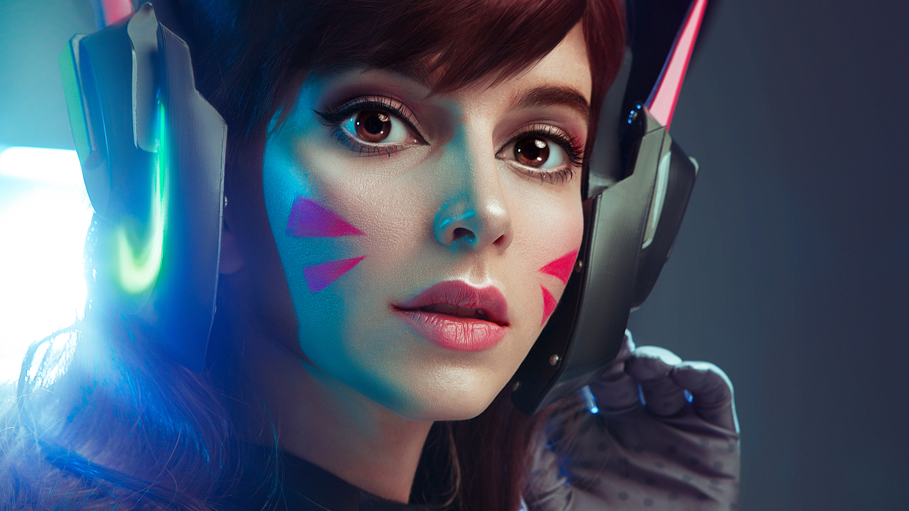 Dva Overwatch Cosplay 4k Hd Games 4k Wallpapers Images