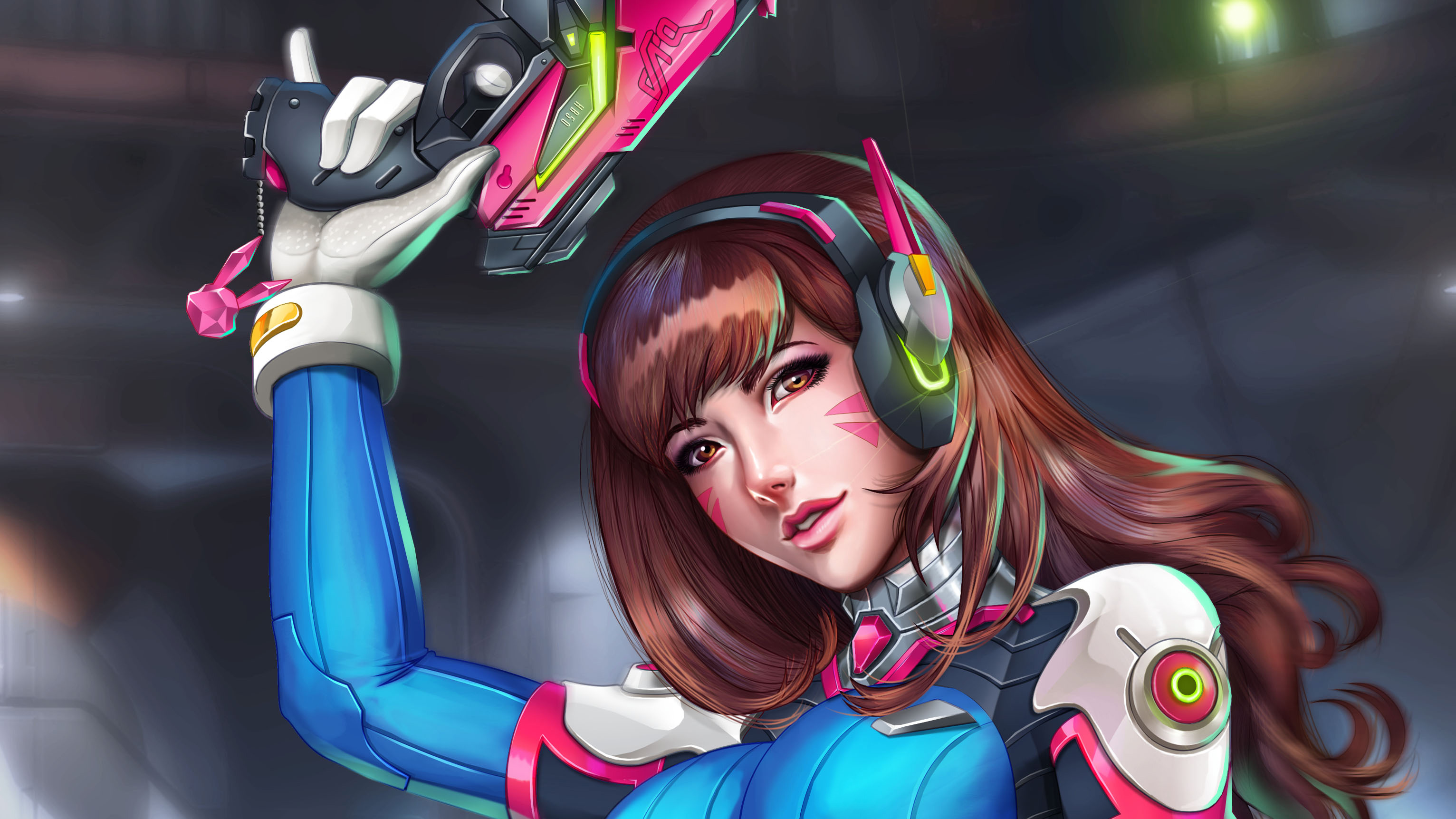 320x240 Dva Overwatch Game 4k Apple Iphone Ipod Touch Galaxy