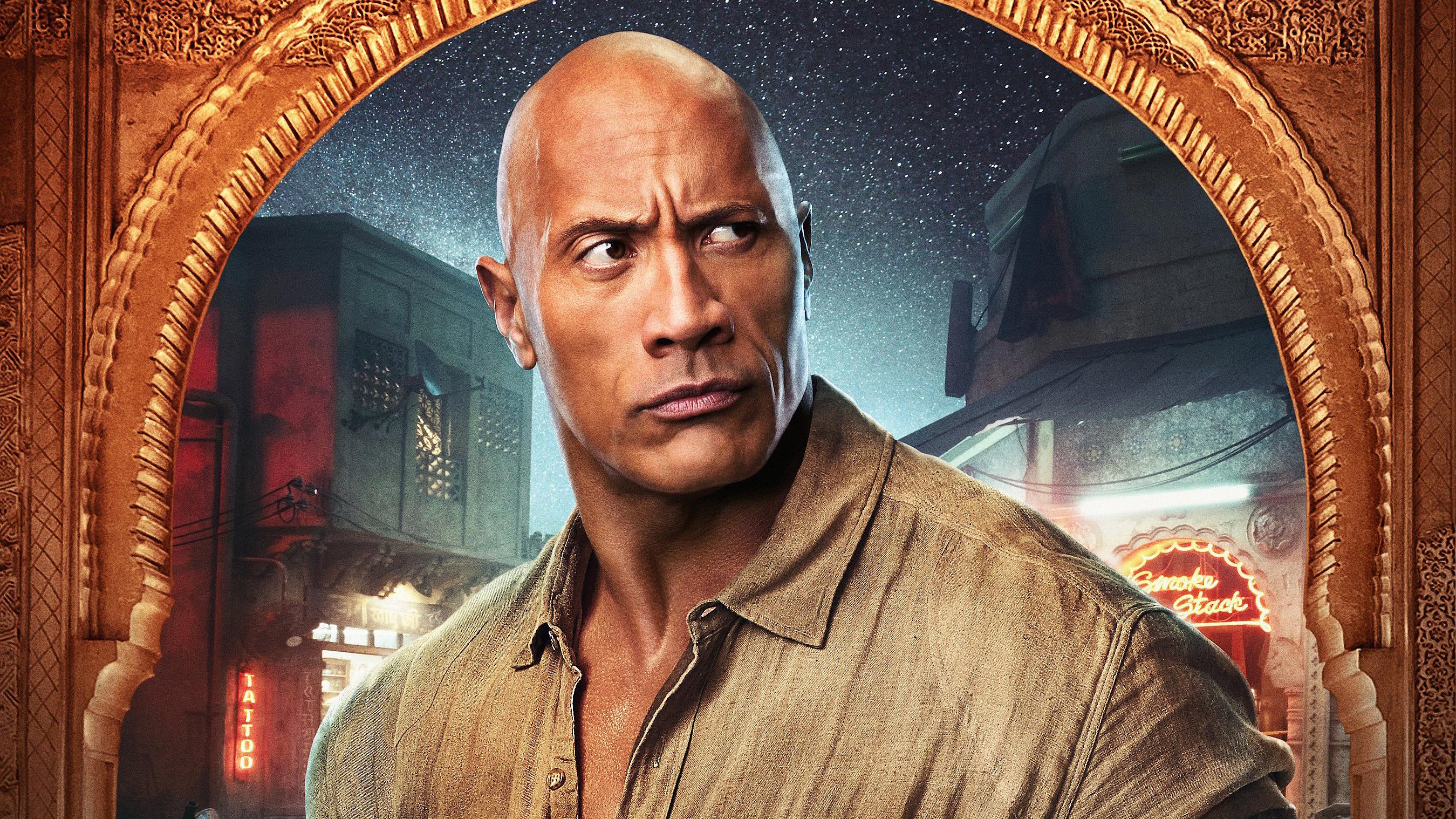 Dwayne Johnson Jumanji The Next Level Hd Movies 4k