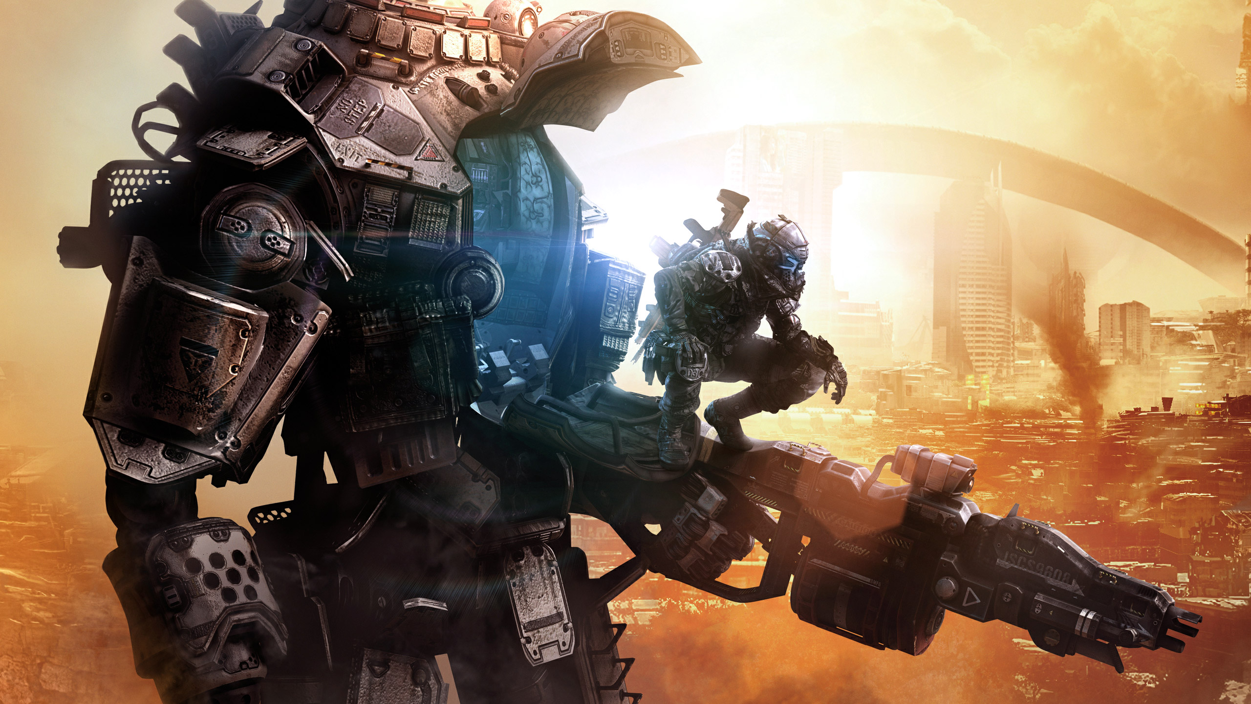 Dystopia titanfall 2 hd games 4k wallpapers images - Epic titanfall 2 wallpapers ...