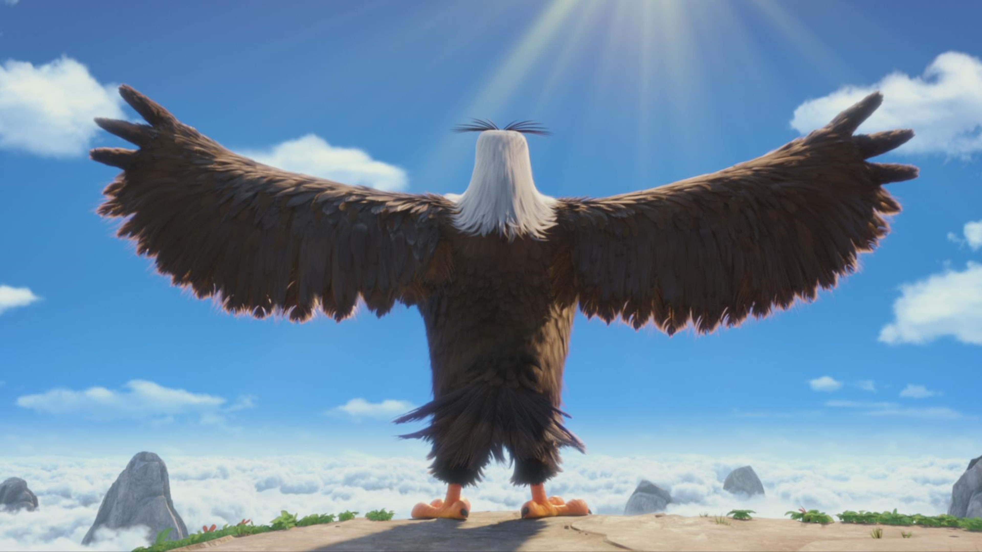 Eagle Angry Birds Movie Wallpaper