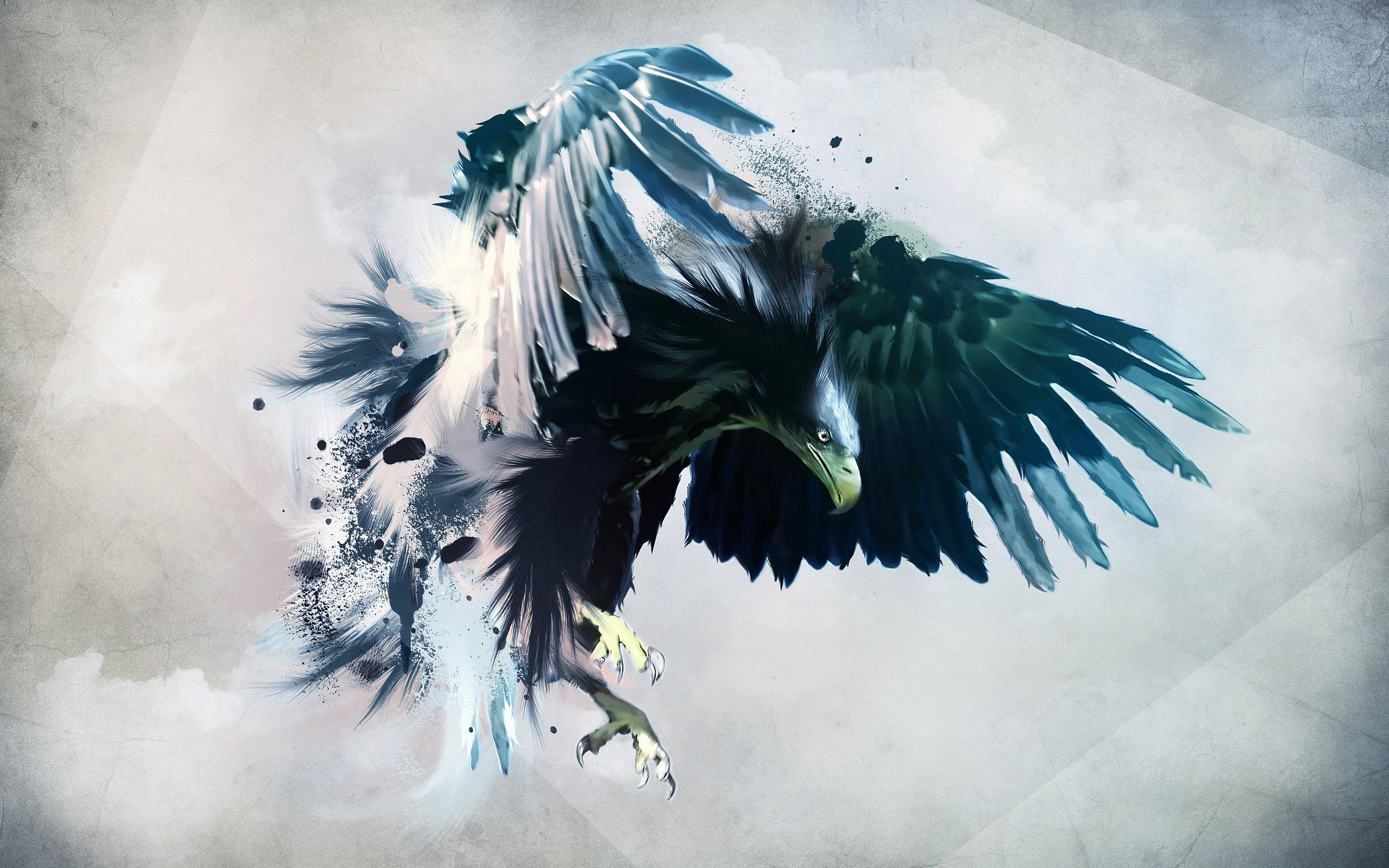 Eagle Art Wallpaper For Android Wallpaper | WallpaperLepi