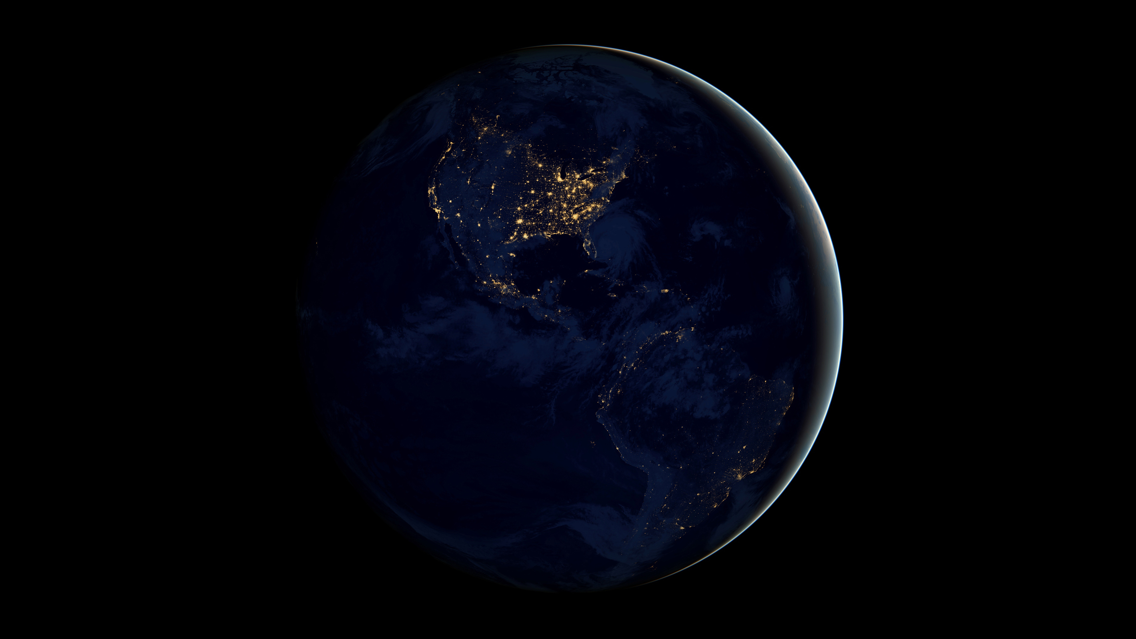Earth From Space 4k, HD Digital Universe, 4k Wallpapers ...