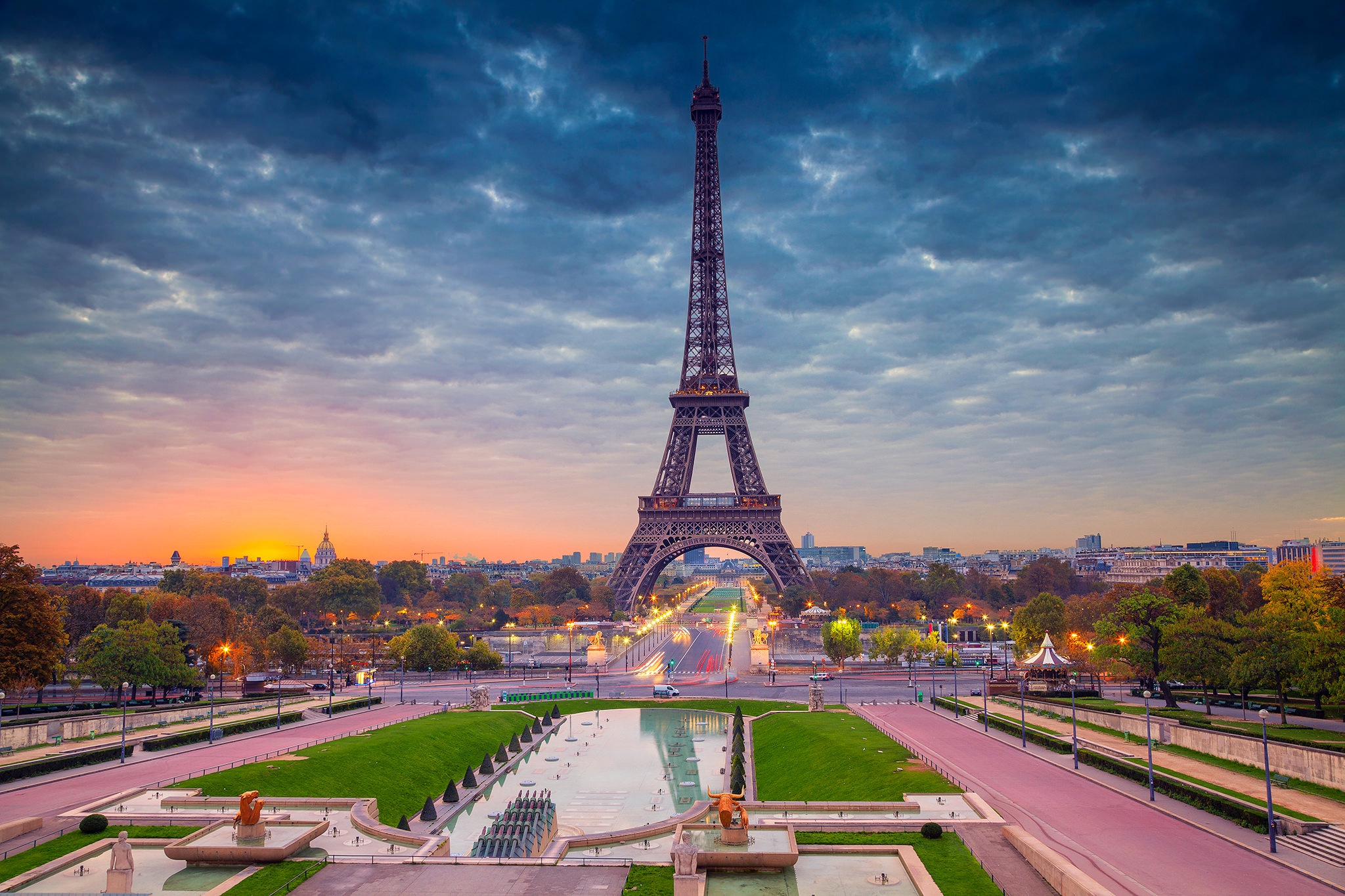 Eiffel Tower Paris Beautiful View, HD World, 4k Wallpapers