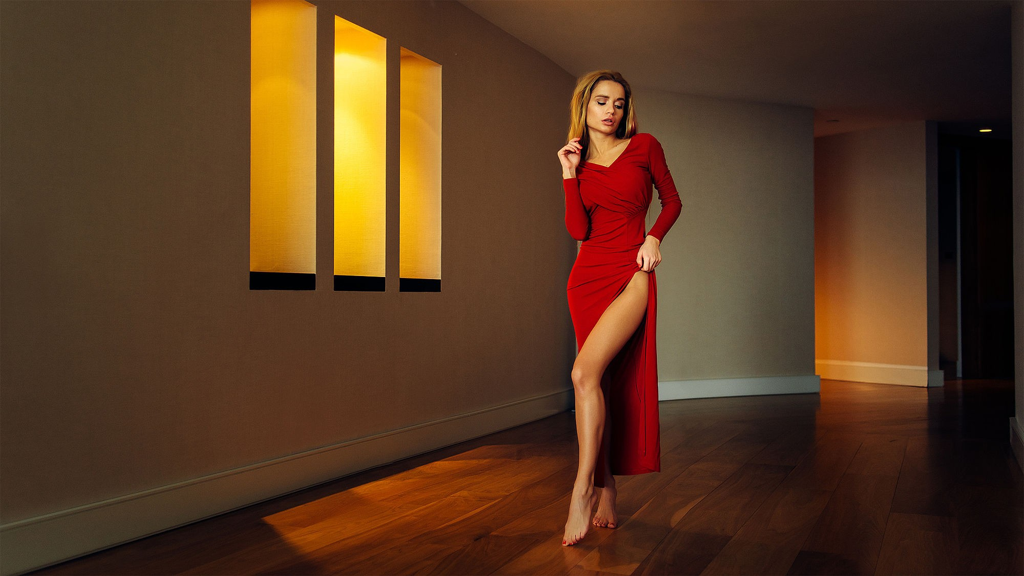 RandomBoard on Twitter: &quot-#wallpaper #women, #blonde, #wet body ...