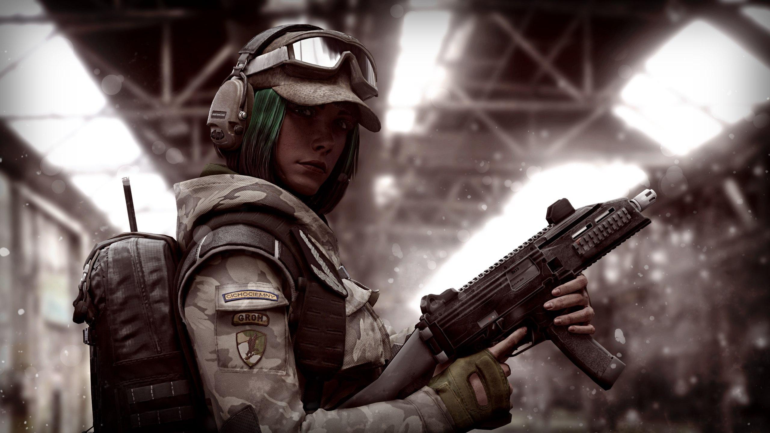 Rainbow Six Siege Wallpaper 4k: Ela R6 Tom Clancys Rainbow Six Siege, HD Games, 4k