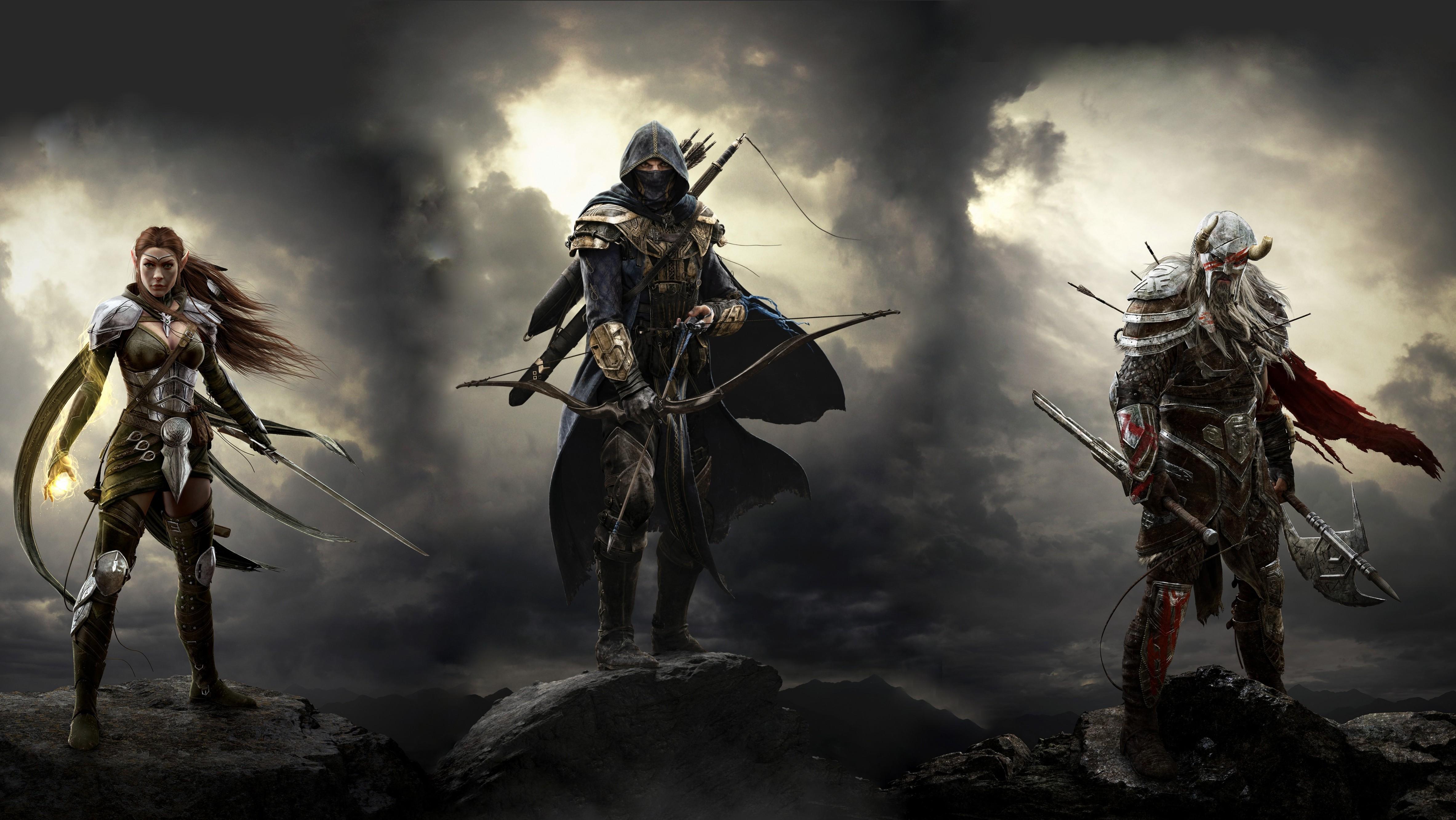 Elder Scrolls Online Warrior, HD Games, 4k Wallpapers ...