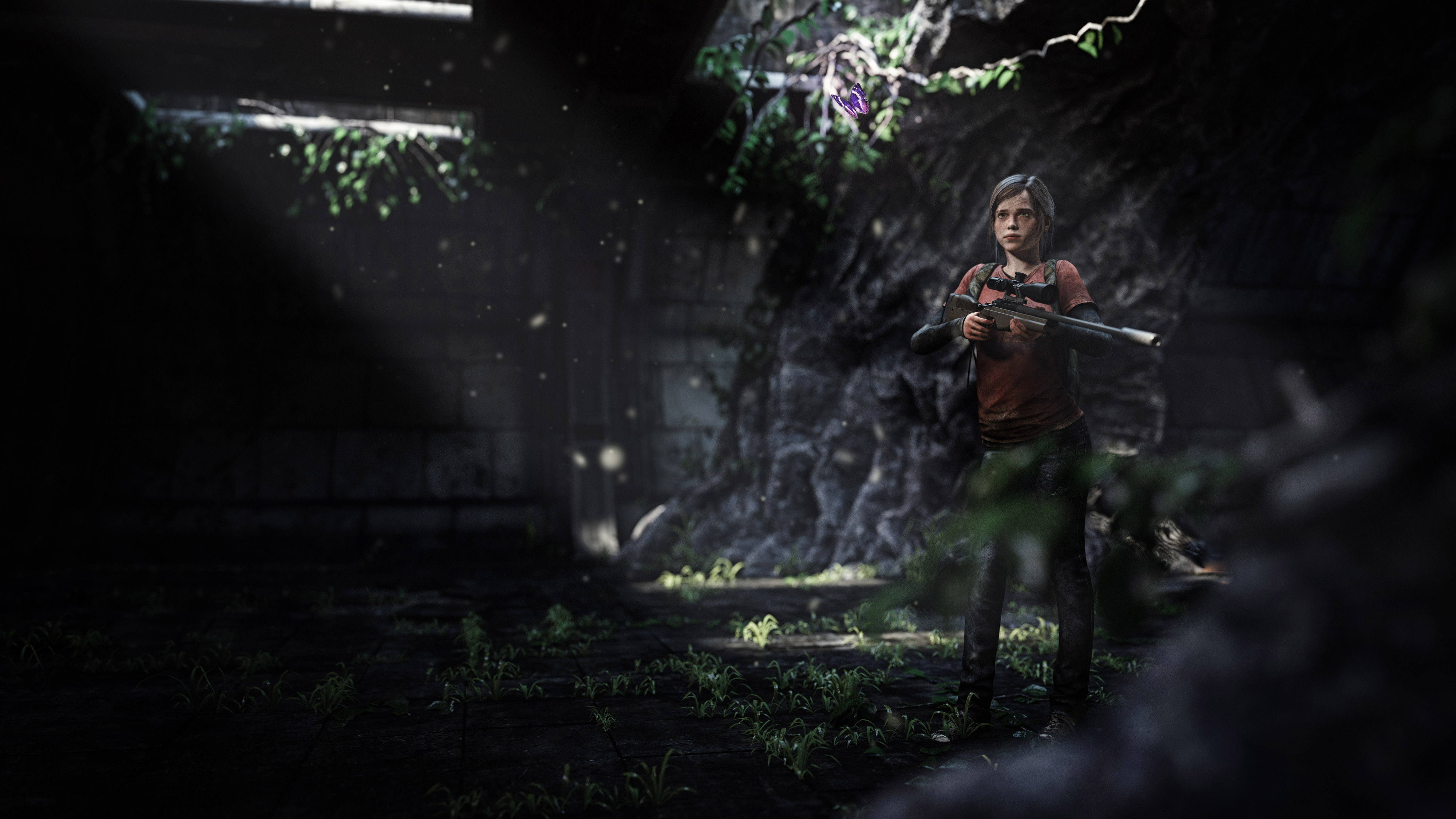 Elle The Last Of Us 3d Art Hd Games 4k Wallpapers Images