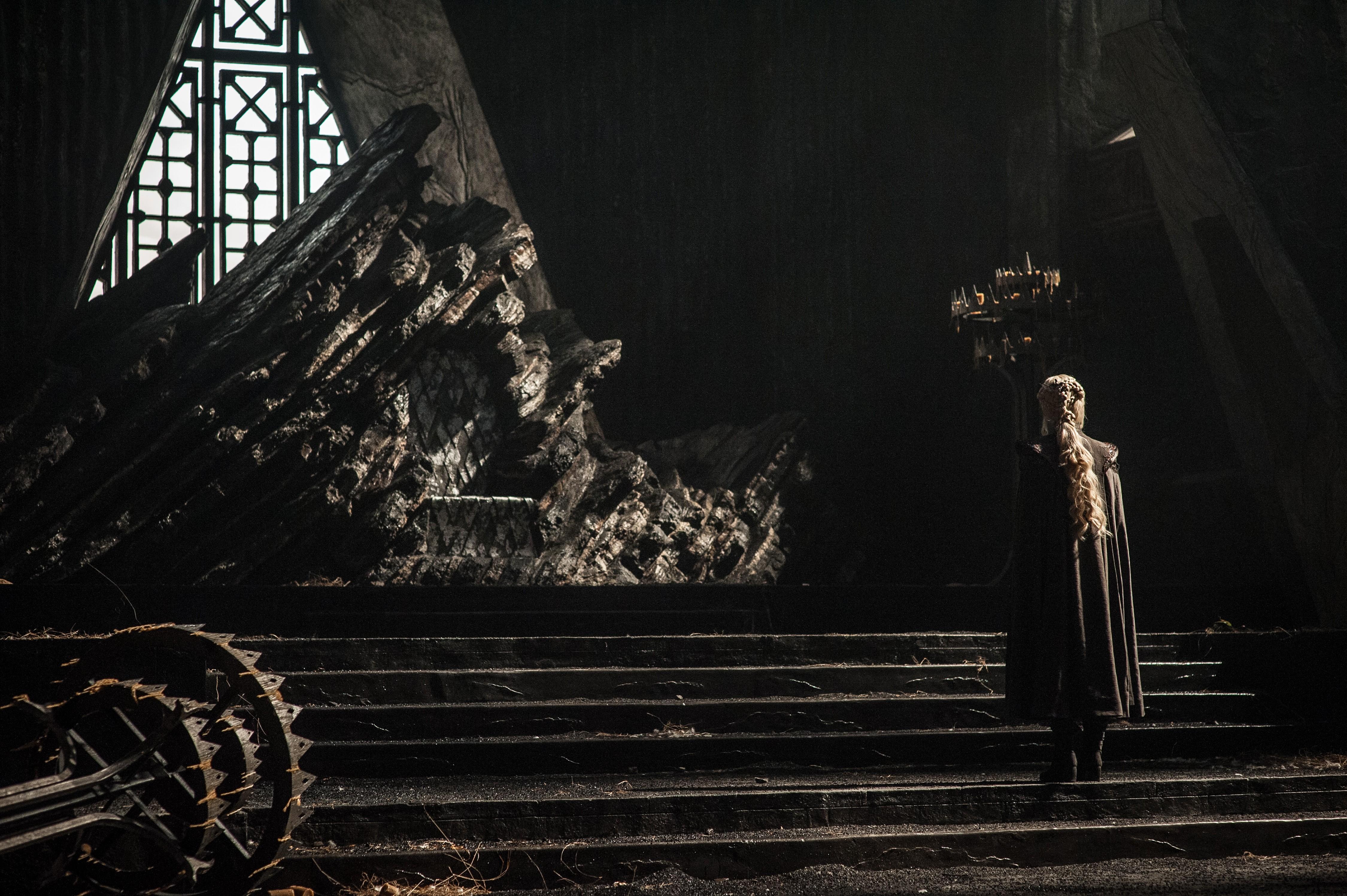 Emilia Clarke Game Of Thrones Season 7