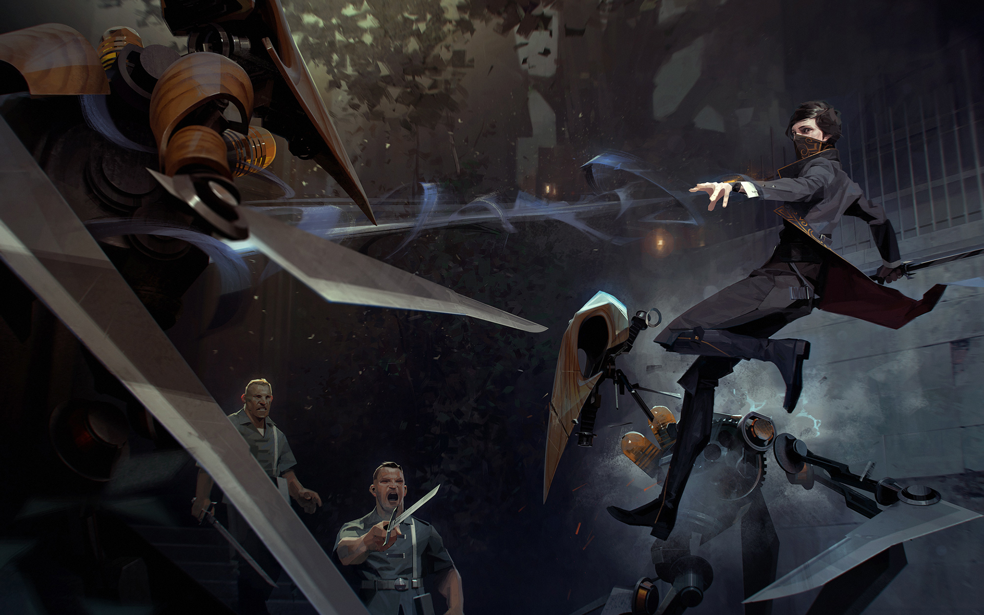 dishonored 2 wallpaper  Emily Dishonored 2, HD Games, 4k Wallpapers, Images, Backgrounds ...