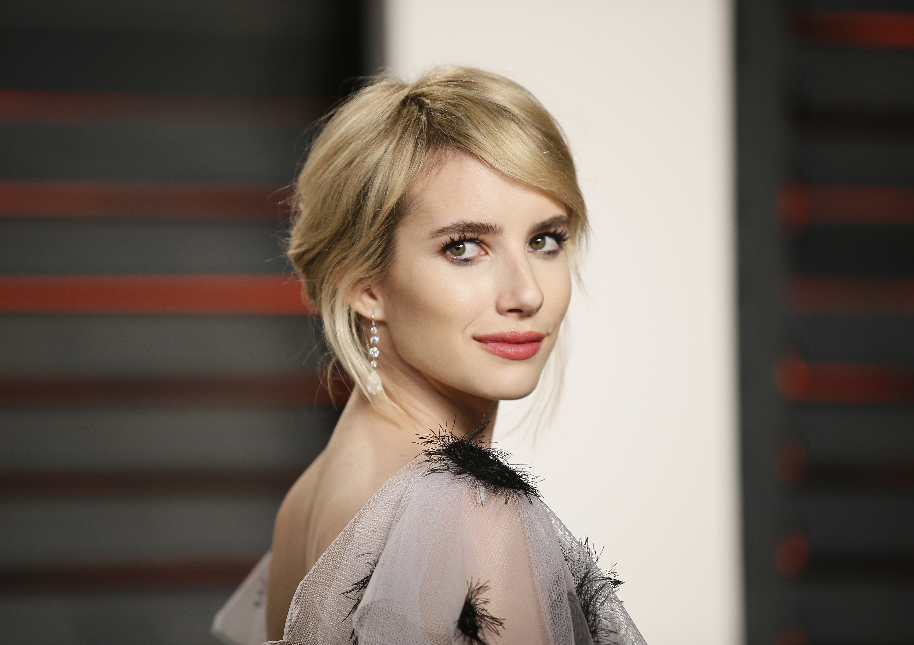 Emma Roberts Scream Queens Premiere