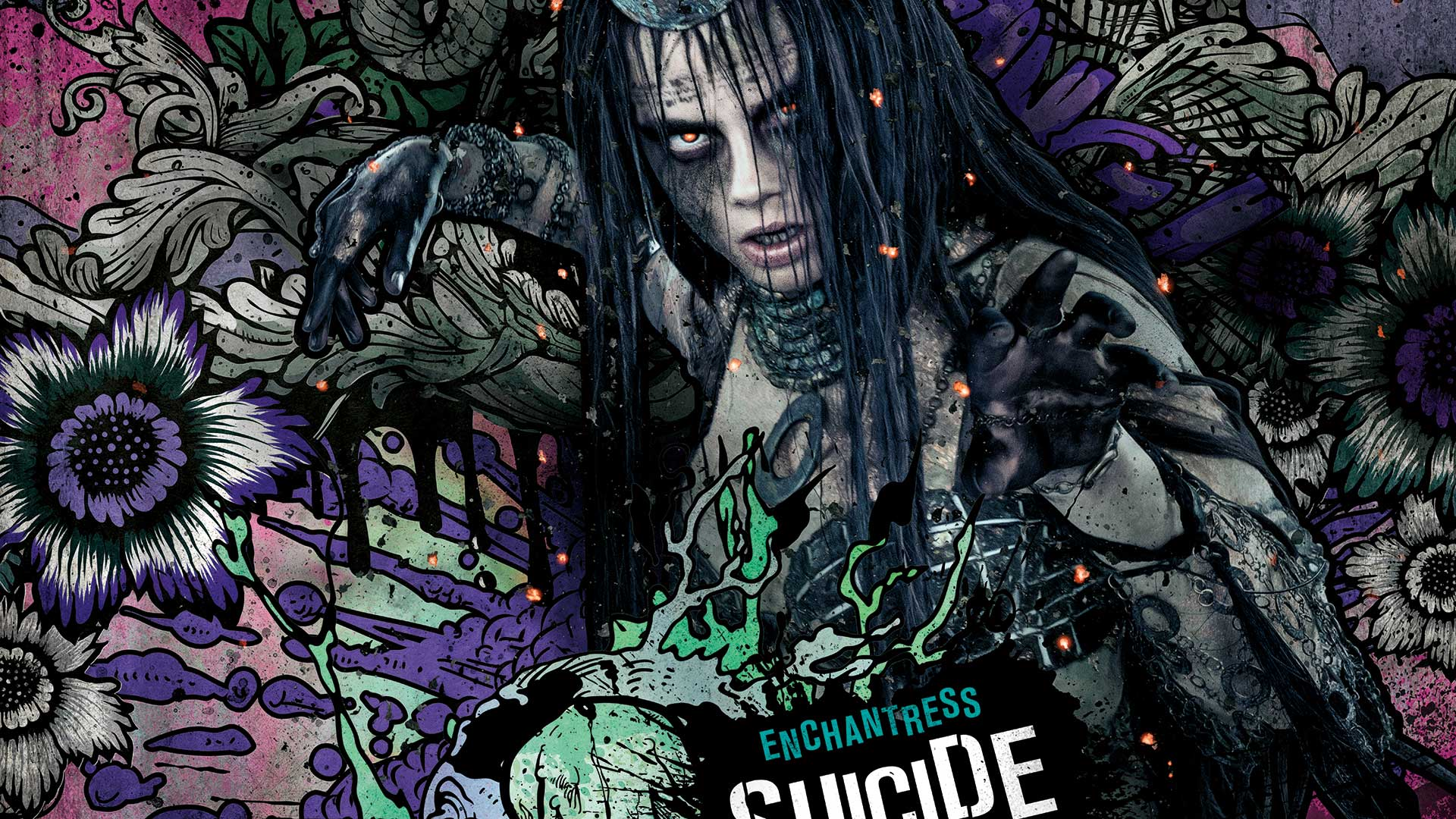 enchantress in suicide squad hd movies 4k wallpapers images backgrounds photos and pictures. Black Bedroom Furniture Sets. Home Design Ideas