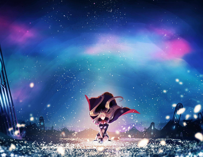 Ereshkigal Fantasy Lancer Fate Grand Order Hd Anime 4k