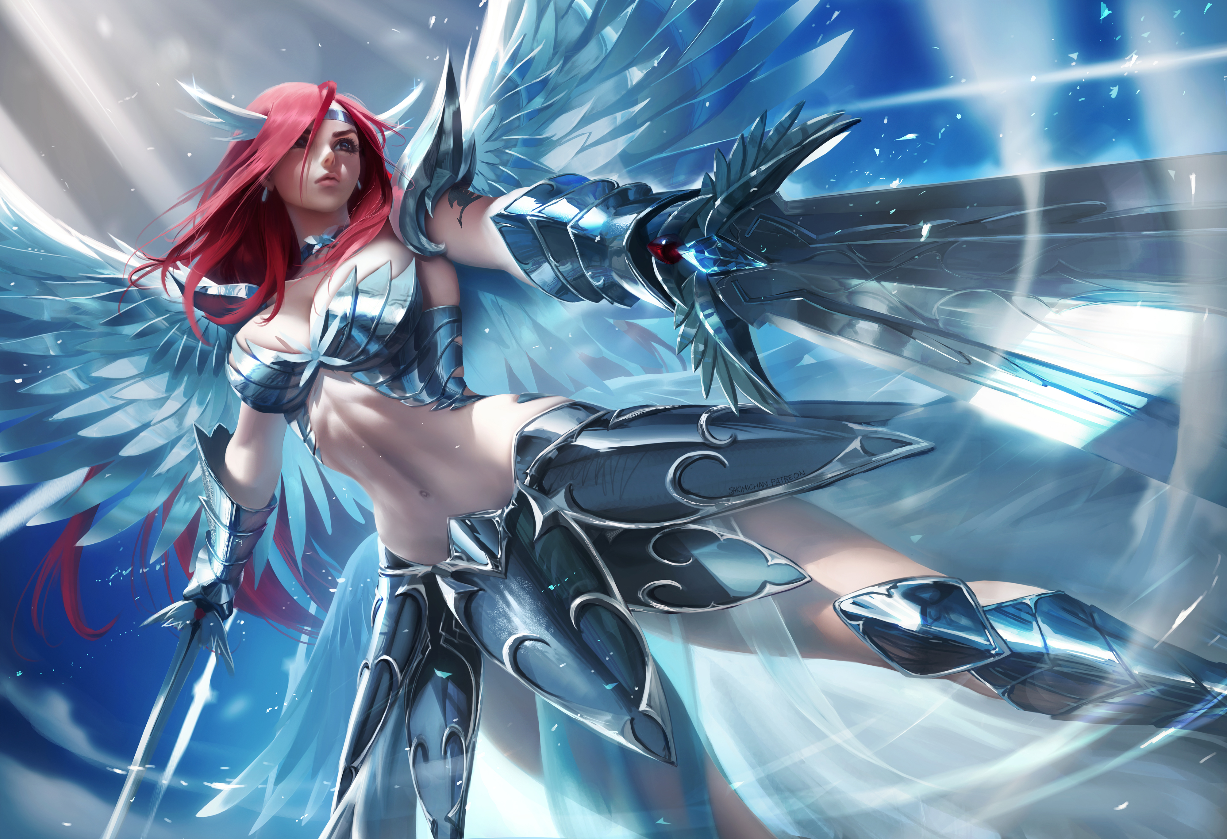 Erza Scarlet Hd Anime 4k Wallpapers Images Backgrounds