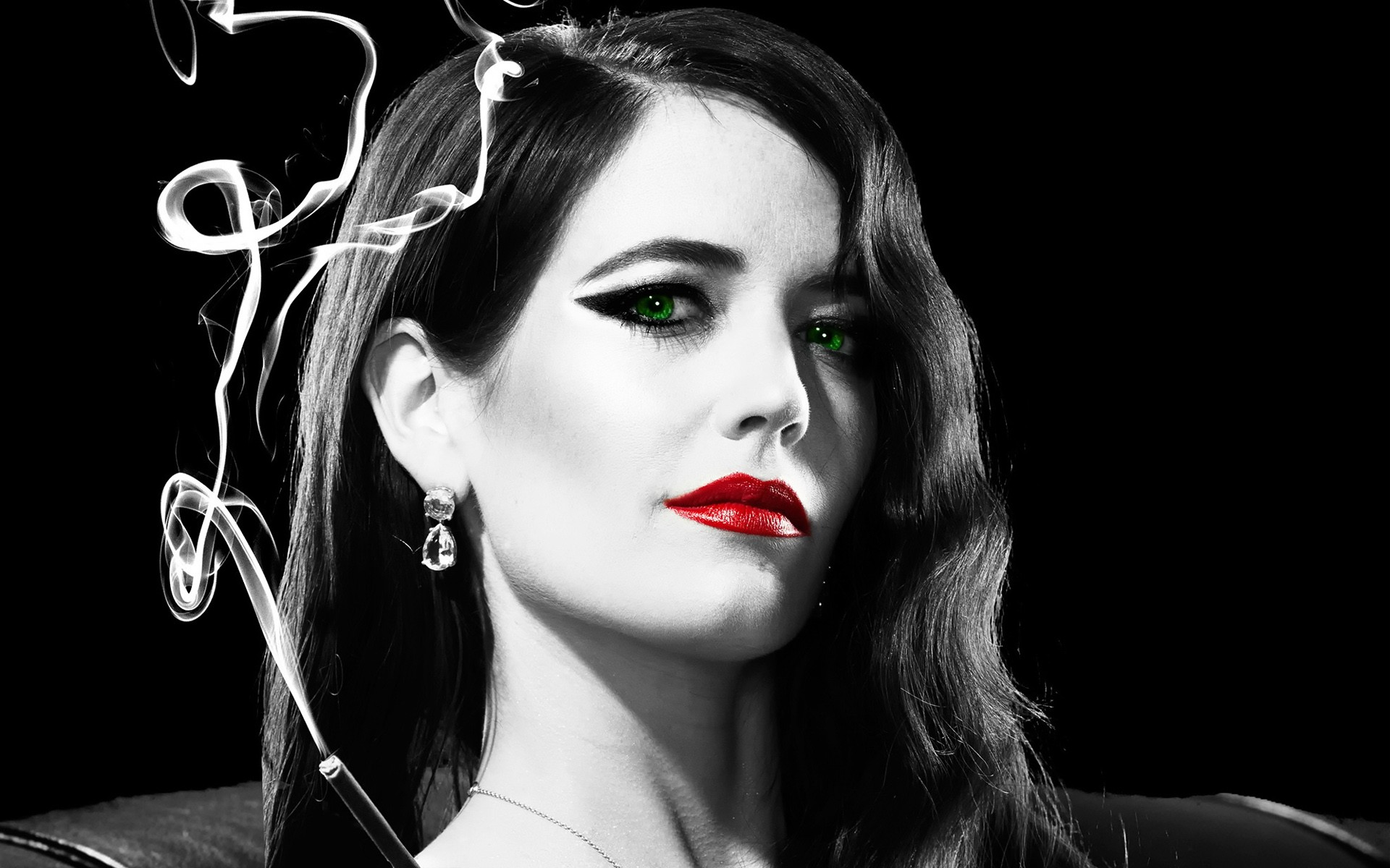 eva green in sin city movie, hd movies, 4k wallpapers, images