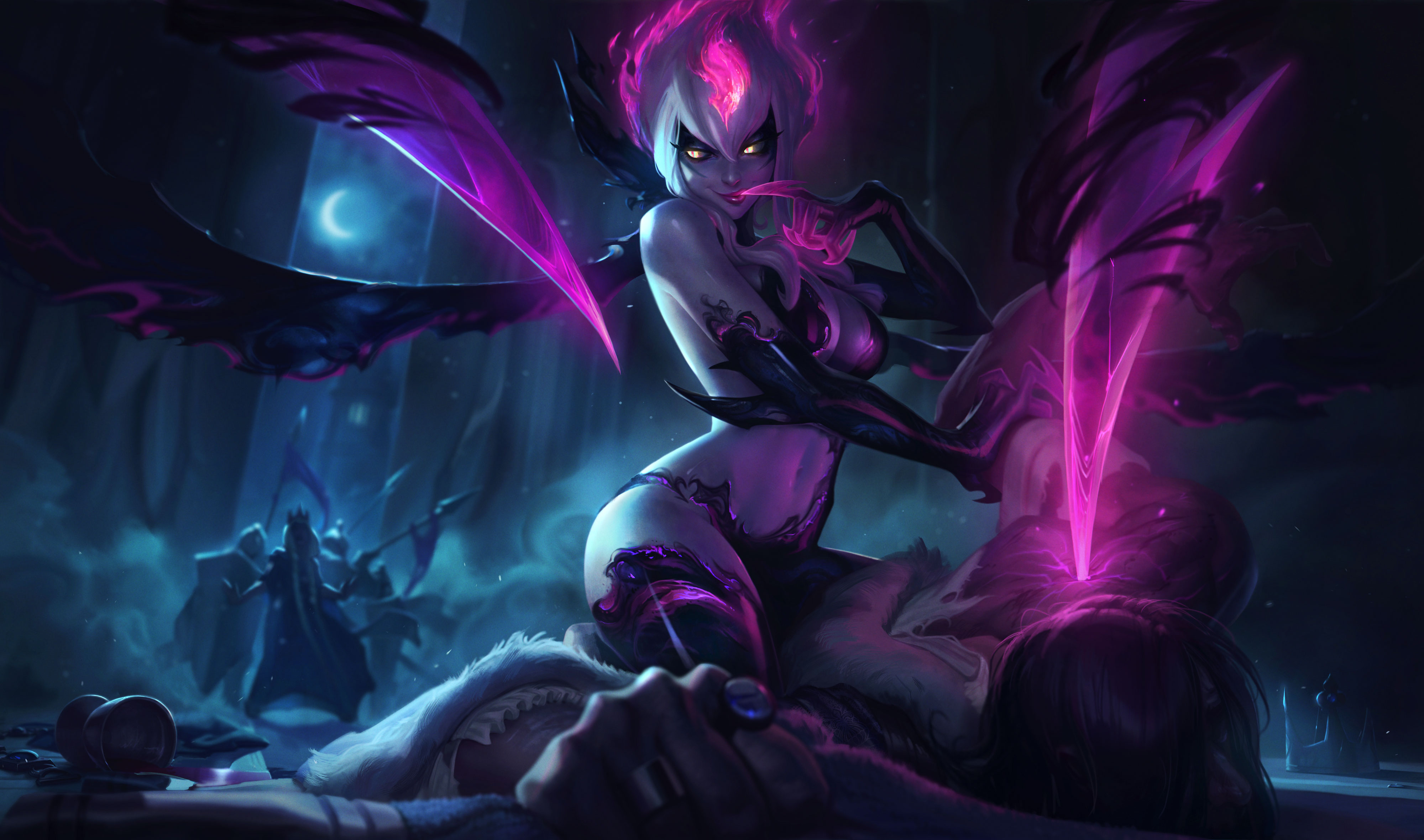 1920x1080 Evelynn League Of Legends 4k Laptop Full Hd 1080p