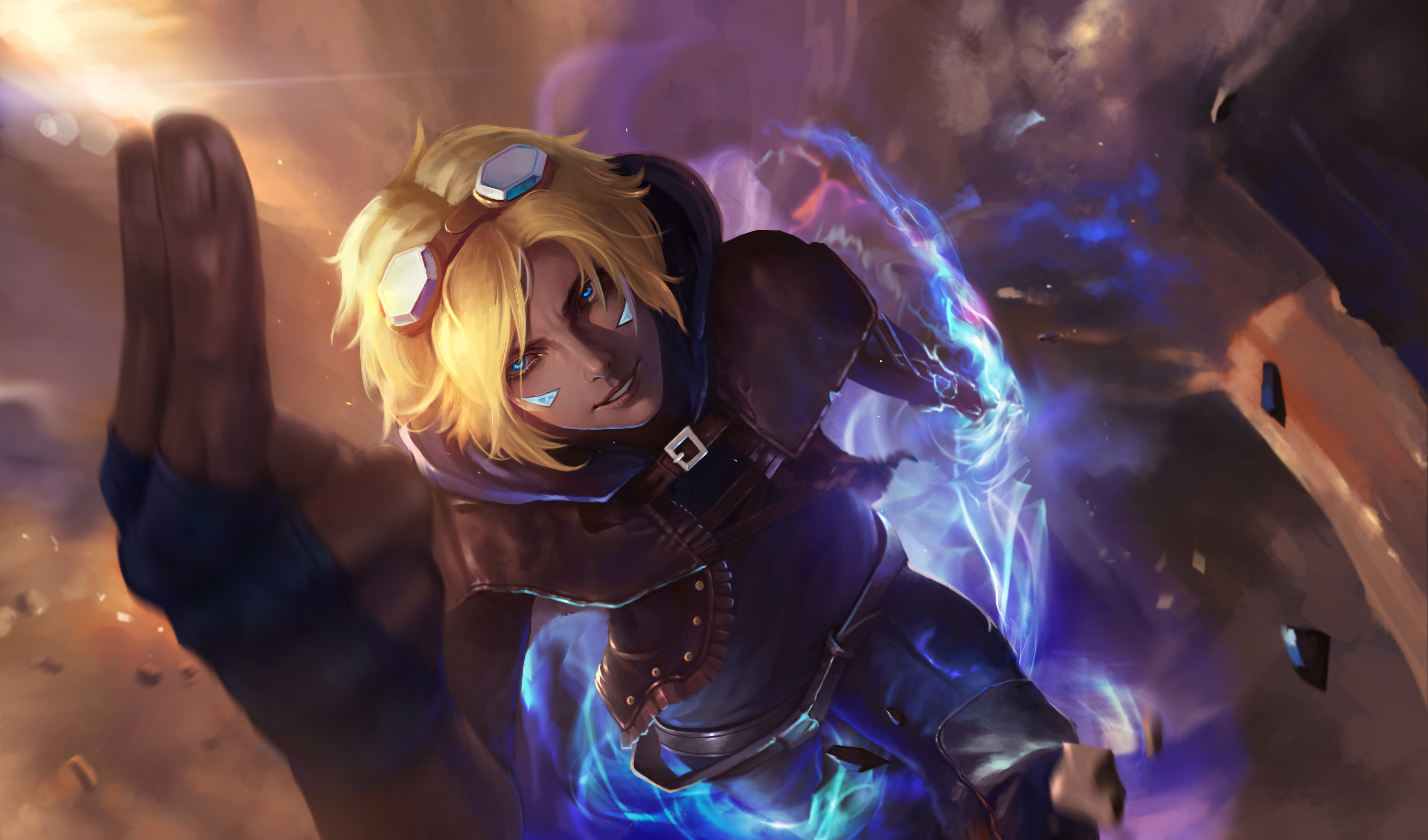 ezreal build ap
