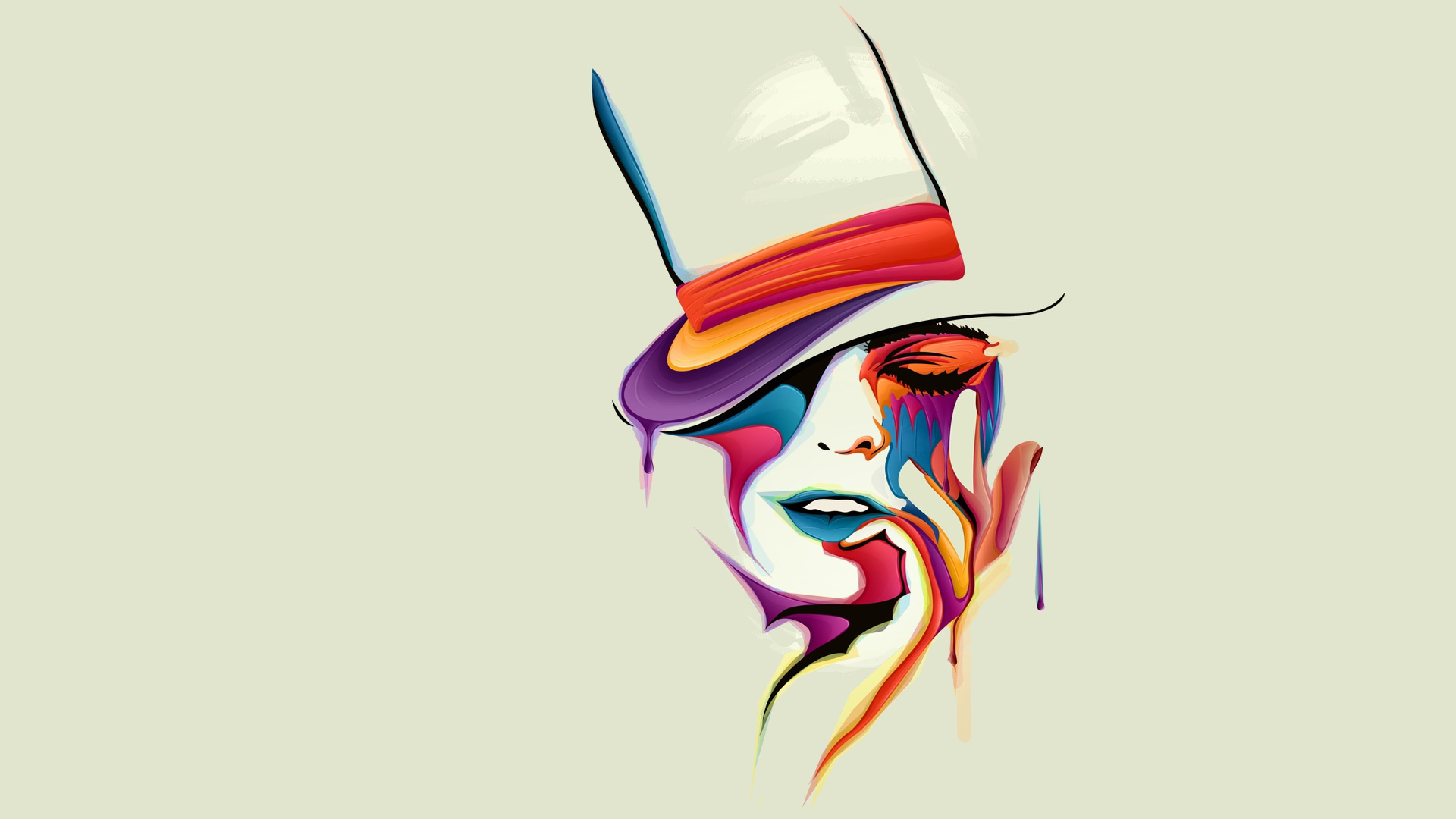 Face vector art hd artist 4k wallpapers images for Different types of abstract art