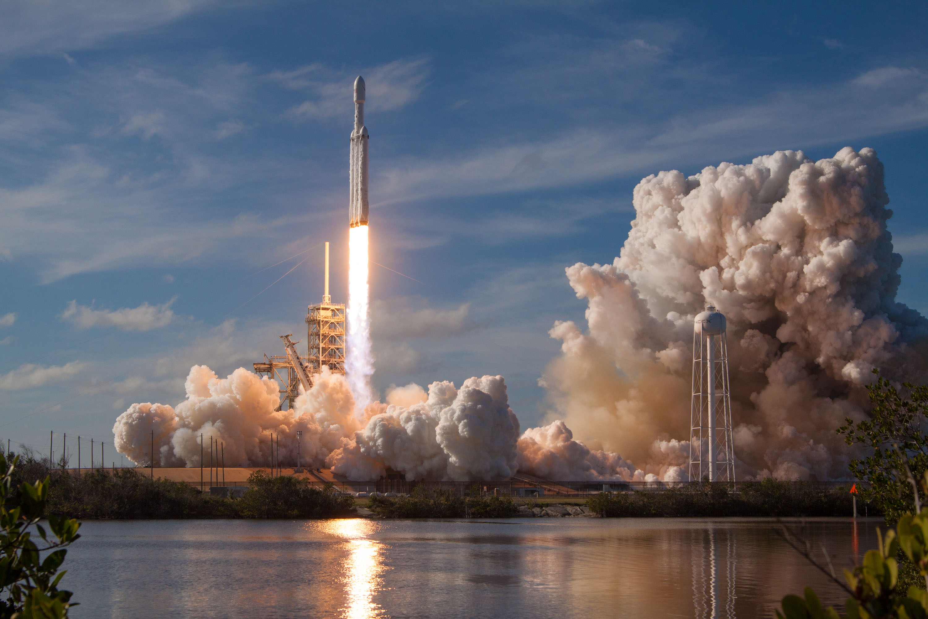 Falcon Heavy Space X Launch, HD Others, 4k Wallpapers ...