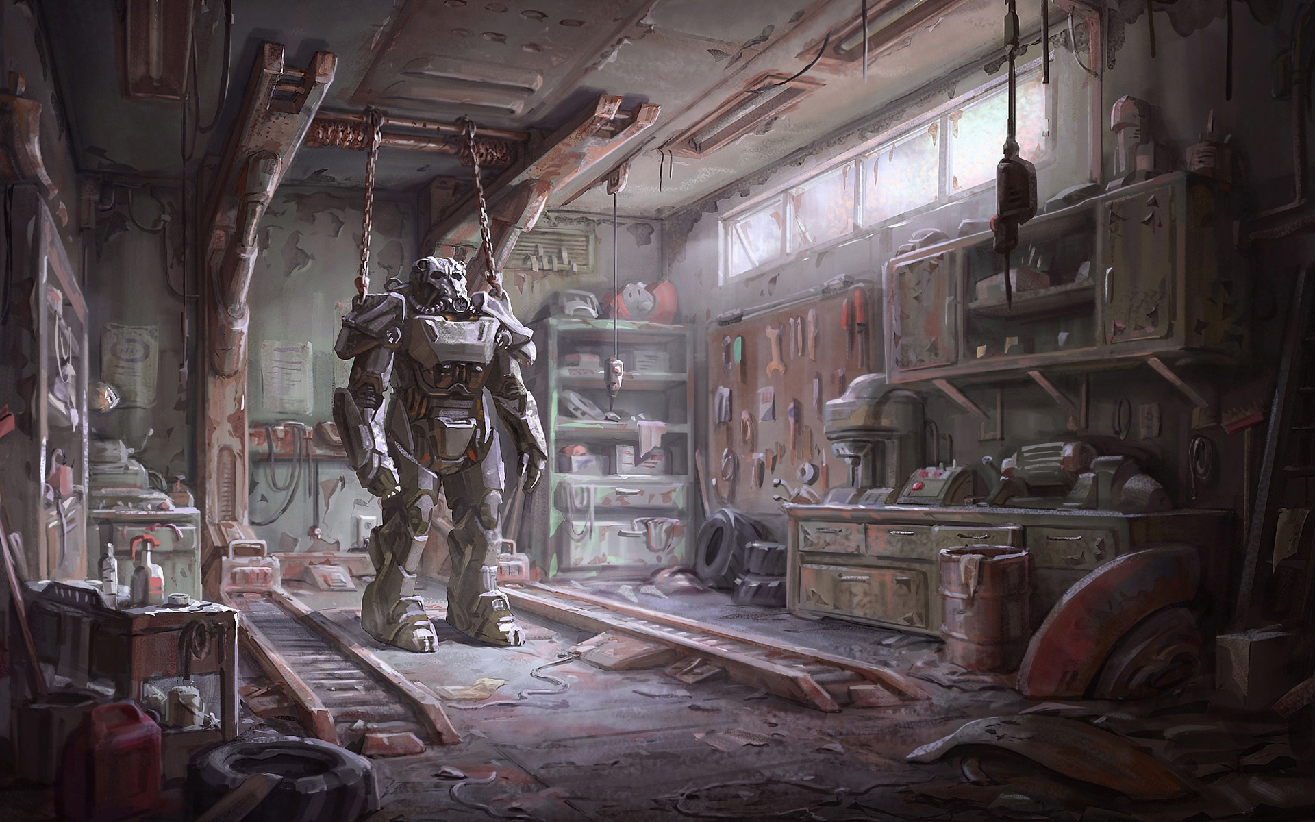 Fallout 4 Armour HD Games 4k Wallpapers Images Backgrounds