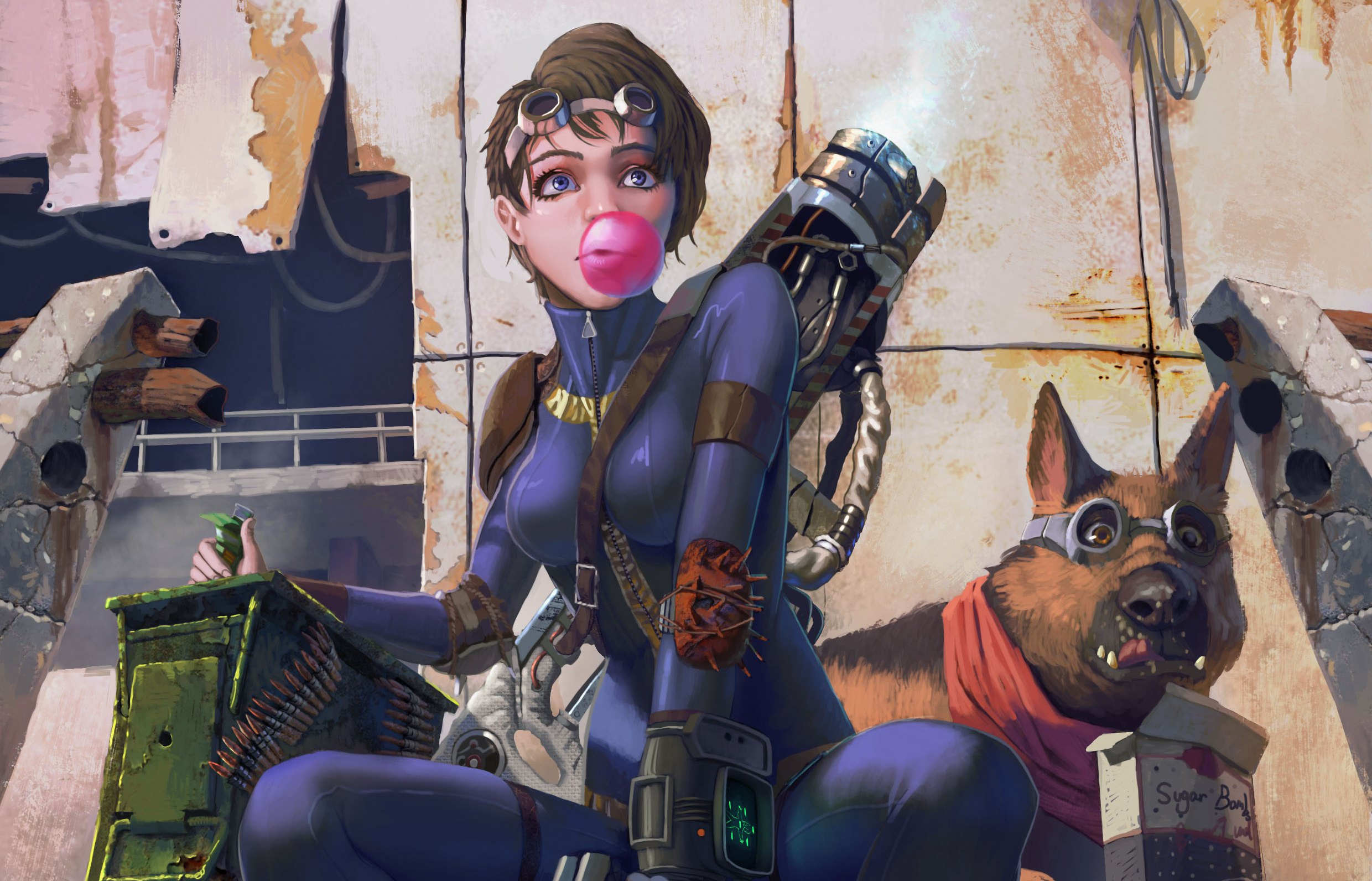 Fallout 4k Game Artwork, HD Games, 4k Wallpapers, Images ...