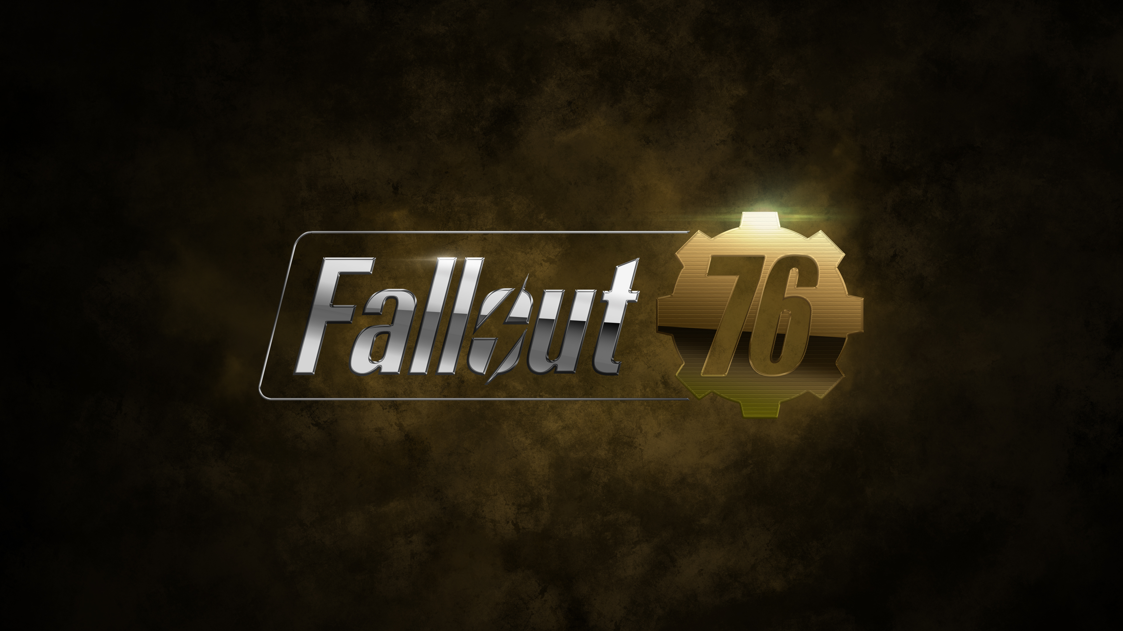 Fallout 76 Game Logo 4k Hd Games 4k Wallpapers Images
