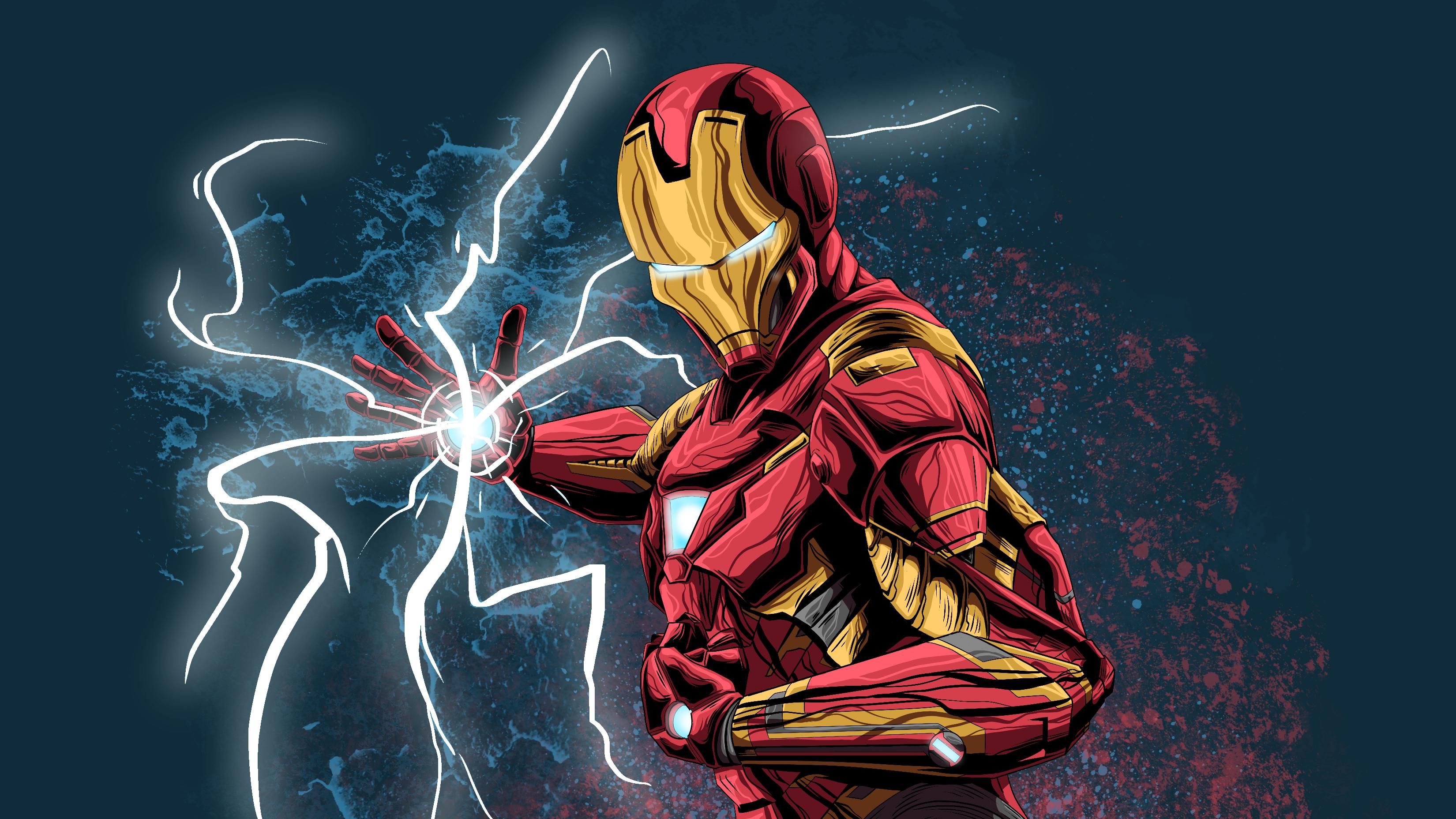 Fanart Of Iron Man 4k, HD Superheroes, 4k Wallpapers, Images