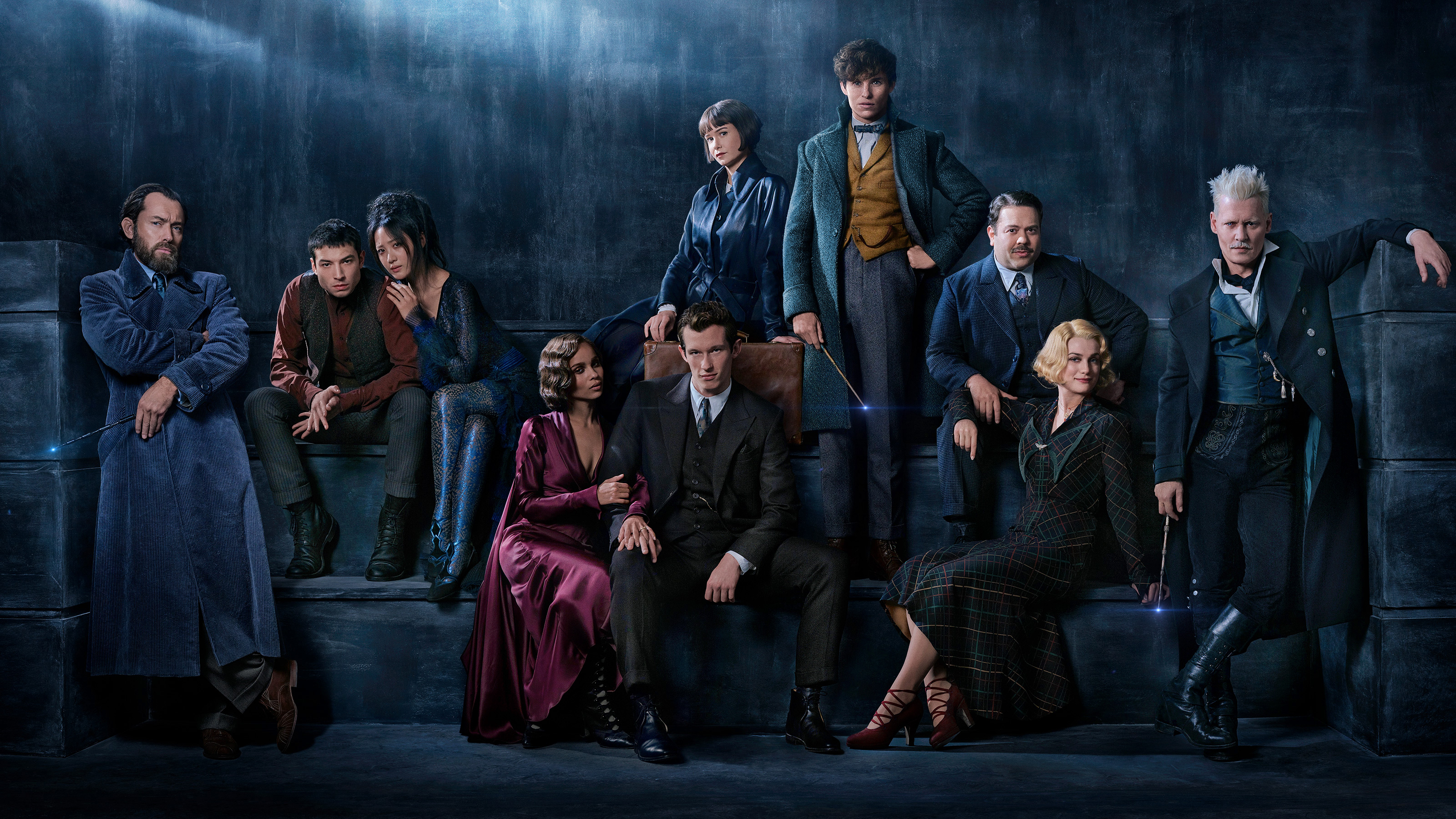 fantastic beasts the crimes of grindelwald 2018 cast, hd movies, 4k
