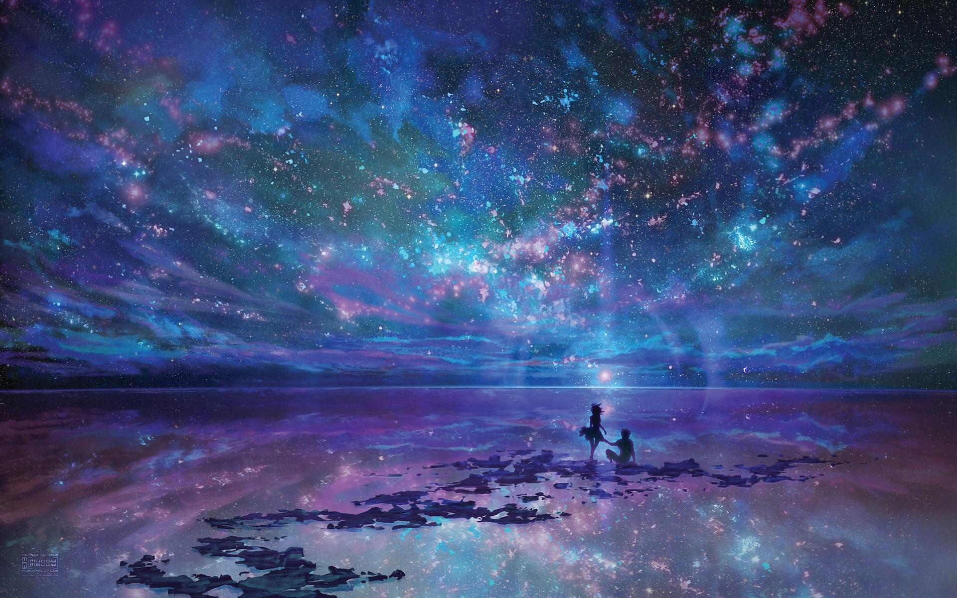fantasy ocean stars