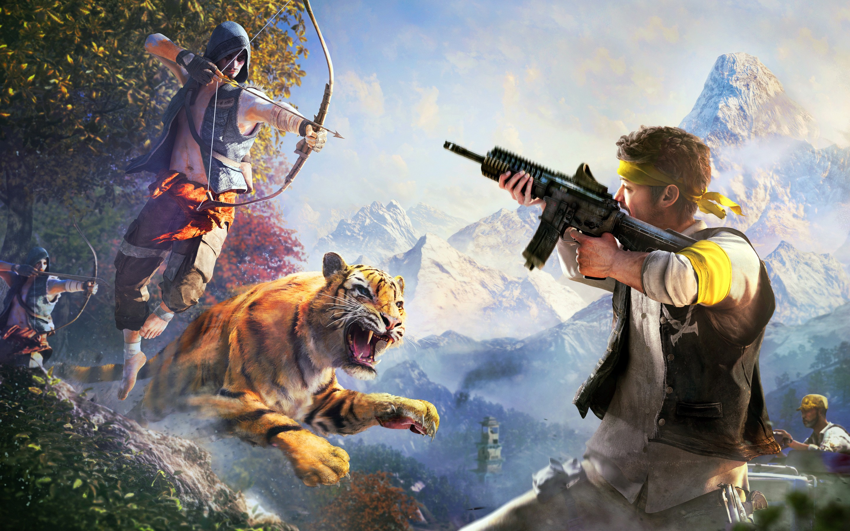 Far cry 4 game hd games 4k wallpapers images - 4k wallpapers games ...