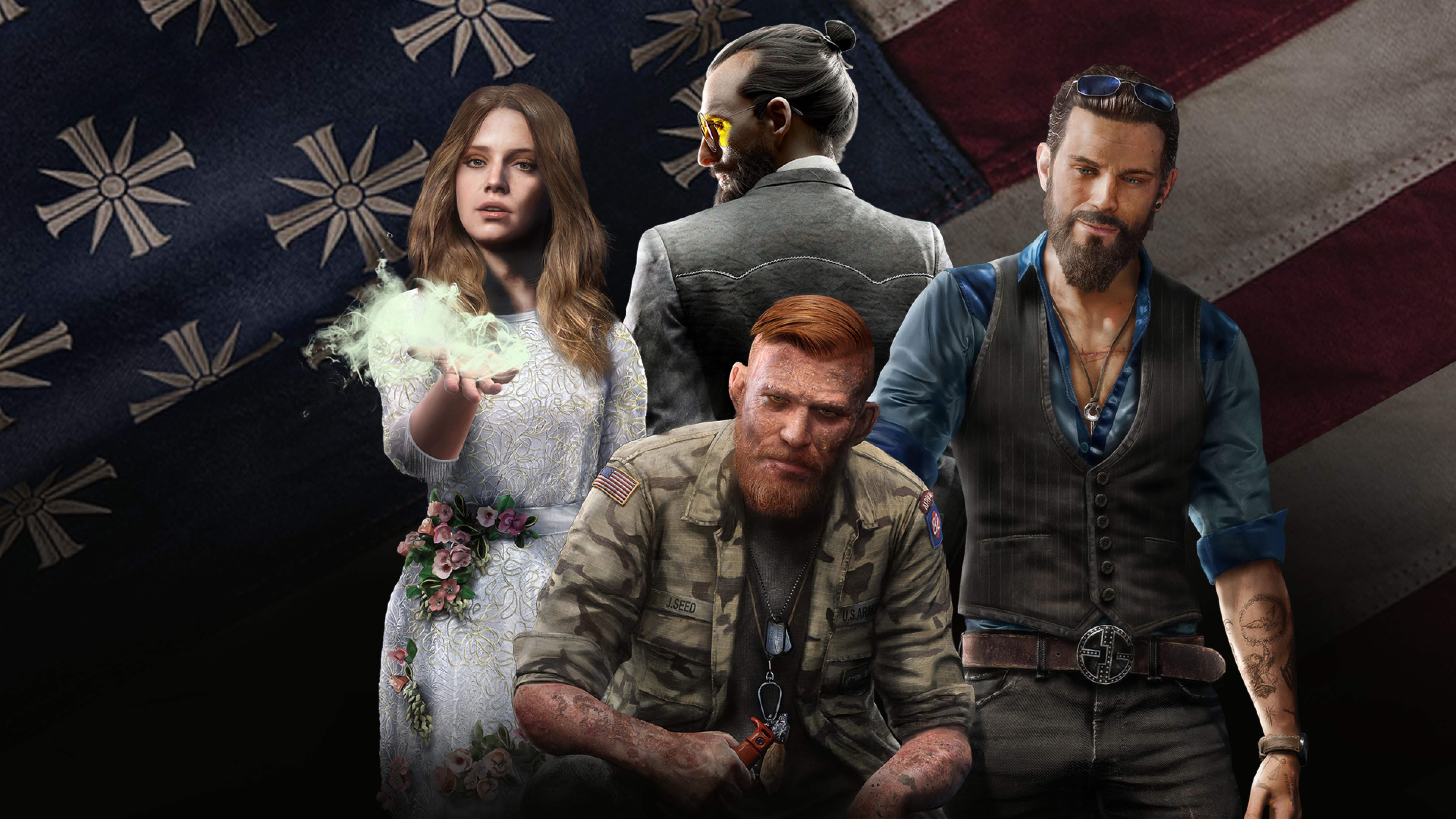 Far Cry 5 Wallpaper 4k: 7680x4320 Far Cry 5 8k 2018 8k HD 4k Wallpapers, Images