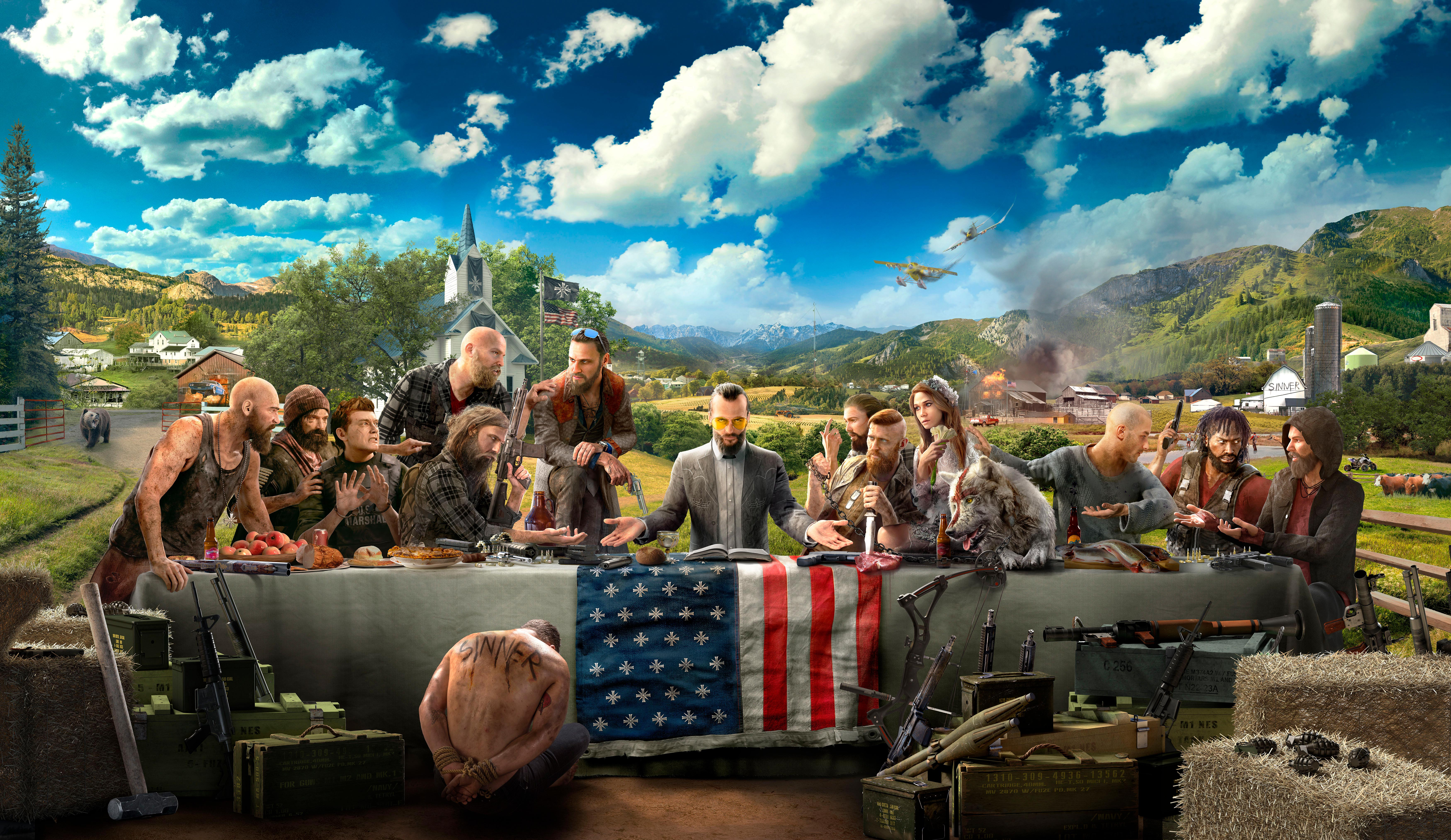 Far Cry 5 8k Hd Games 4k Wallpapers Images Backgrounds