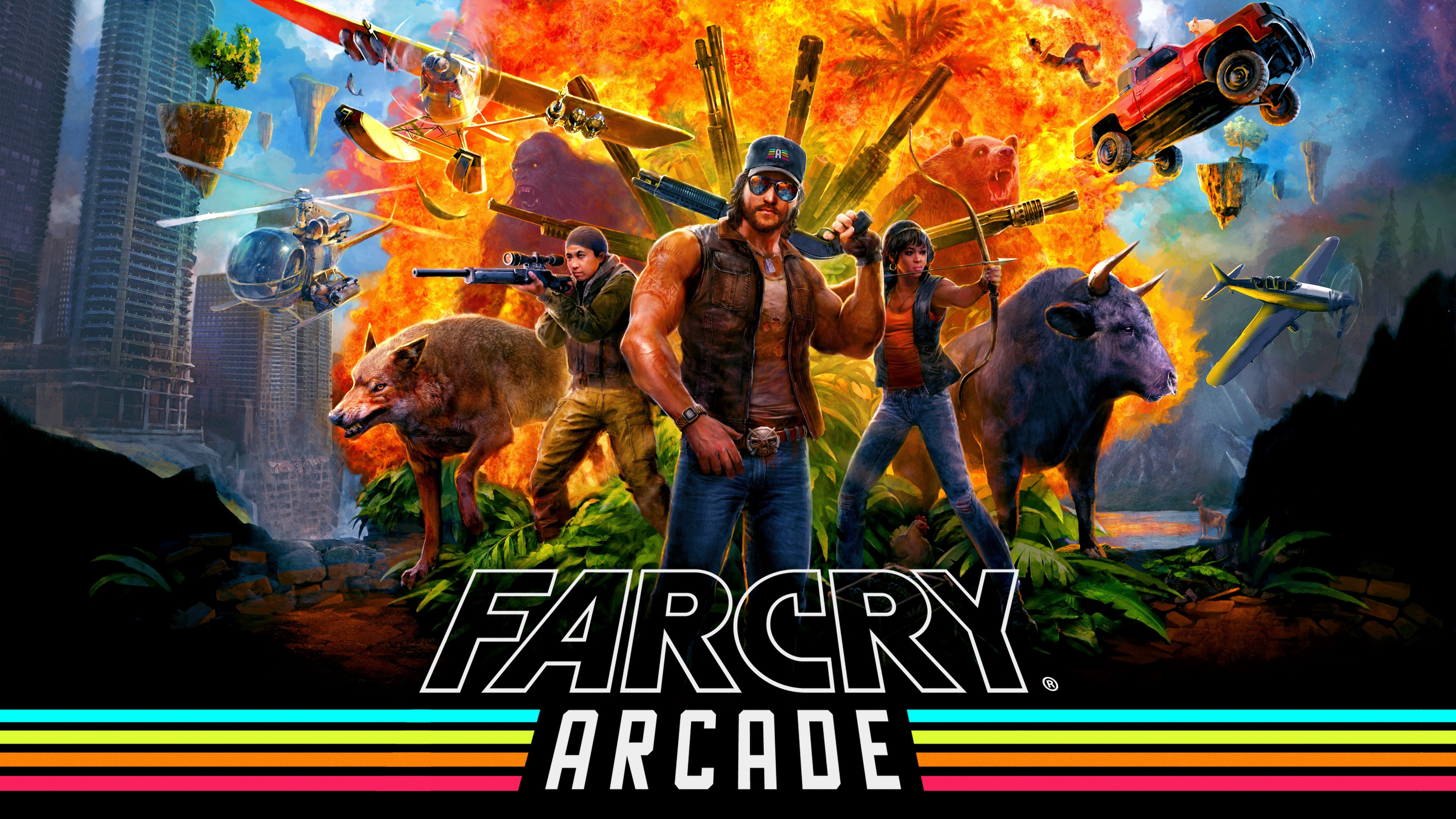 Far Cry 5 Wallpaper 4k: Far Cry 5 Arcade 2018, HD Games, 4k Wallpapers, Images
