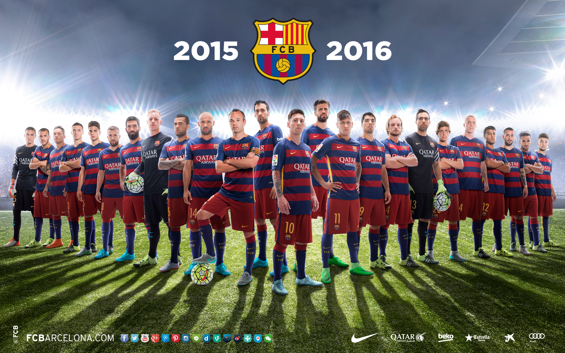 Fcb Hd Wallpapers 2015