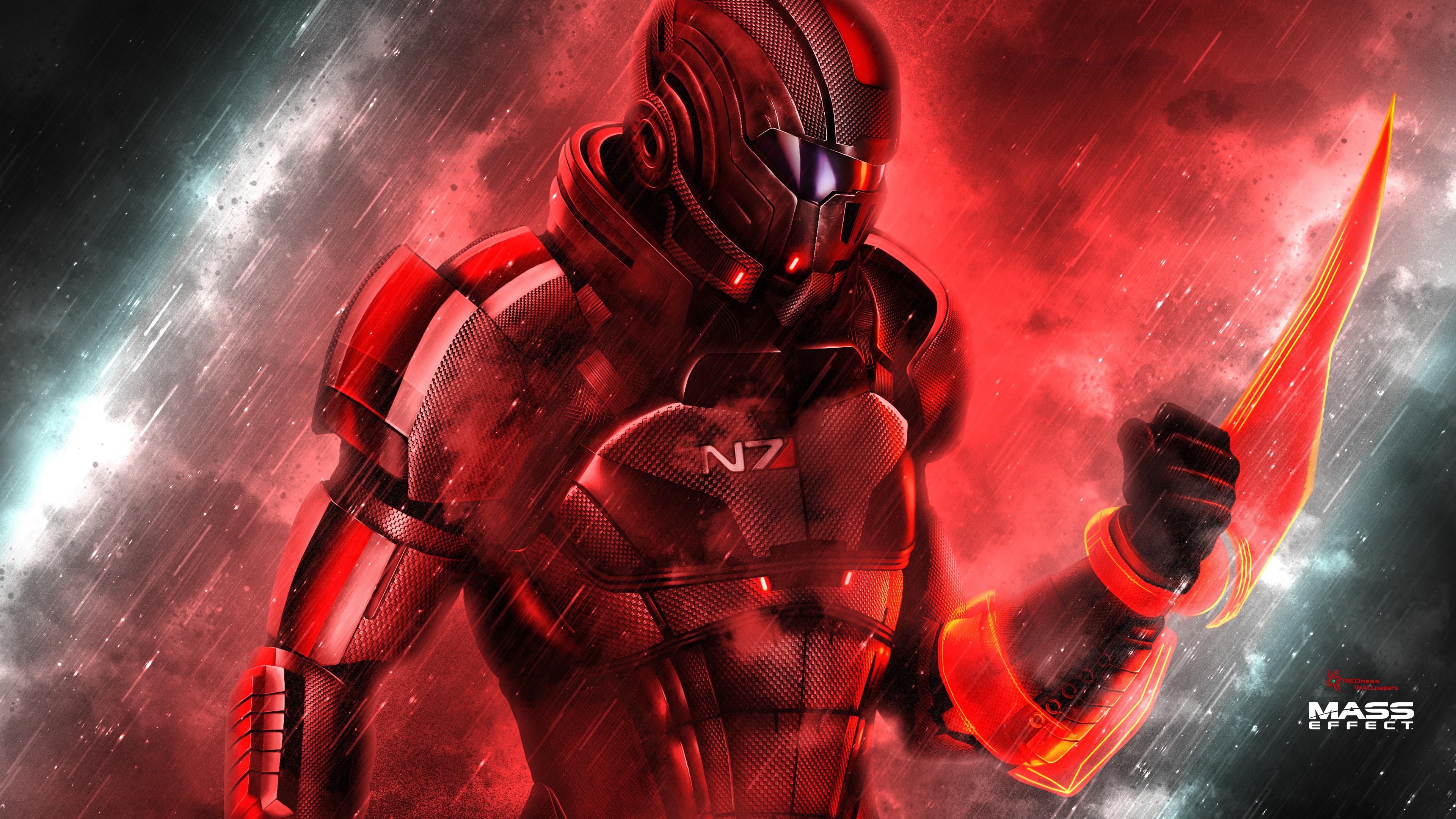 Femshep Mass Effect 4k, HD Games, 4k Wallpapers, Images ...