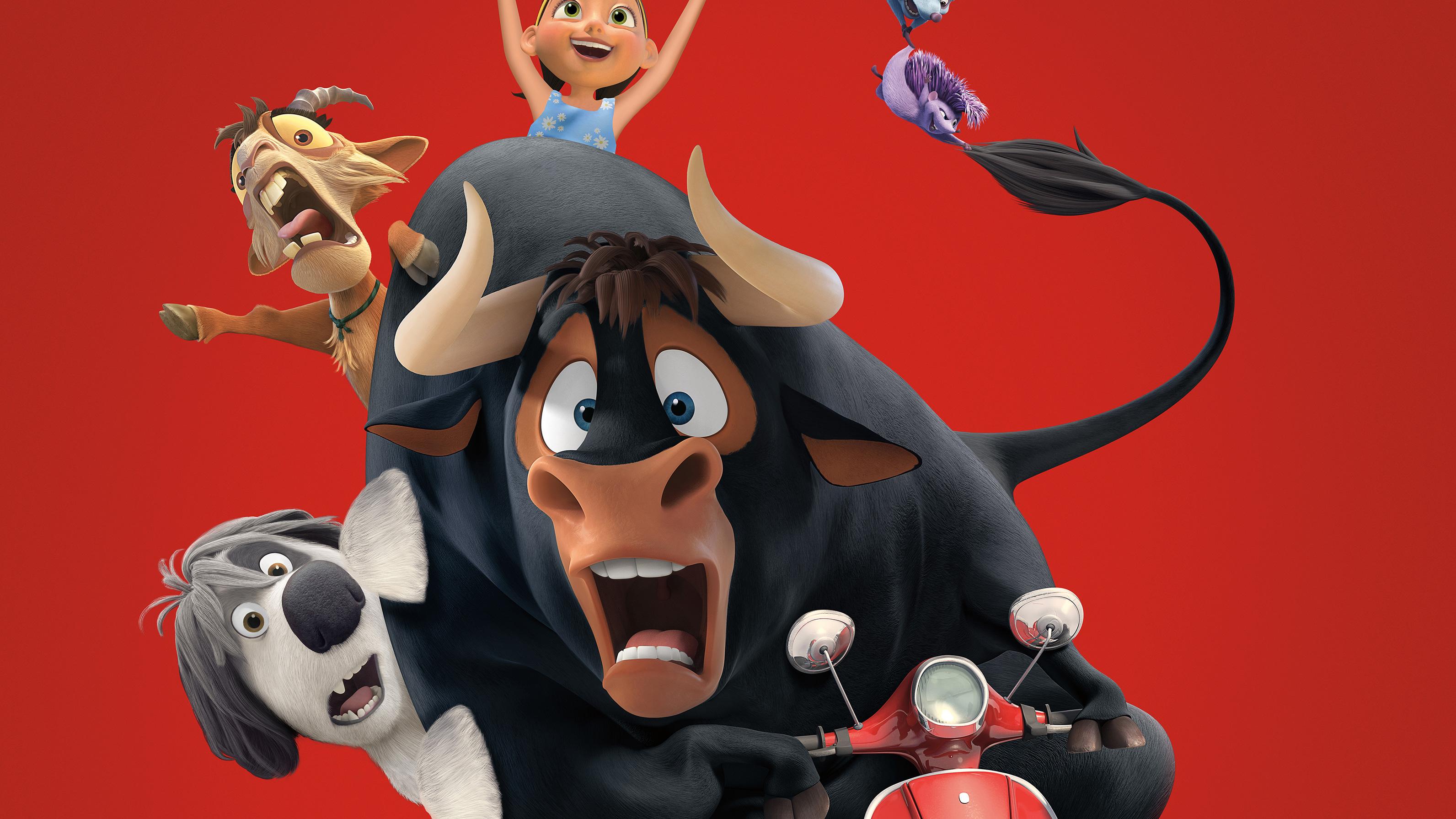 Ferdinand best animated movie of 2017 4k